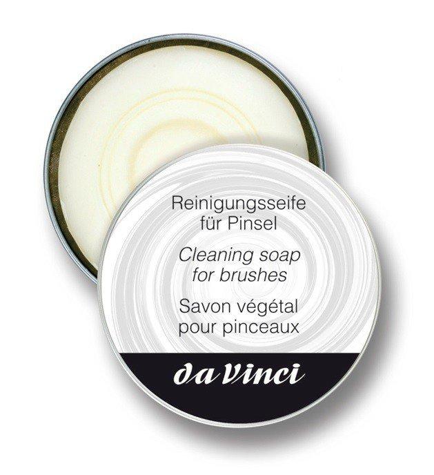 daVinci čistiace mydlo pre kozmetické štetce 85 g
