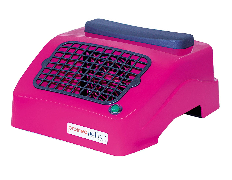 Promed odsávačka prachu Nailfan - 2x Mikrofleece filter, Ružová