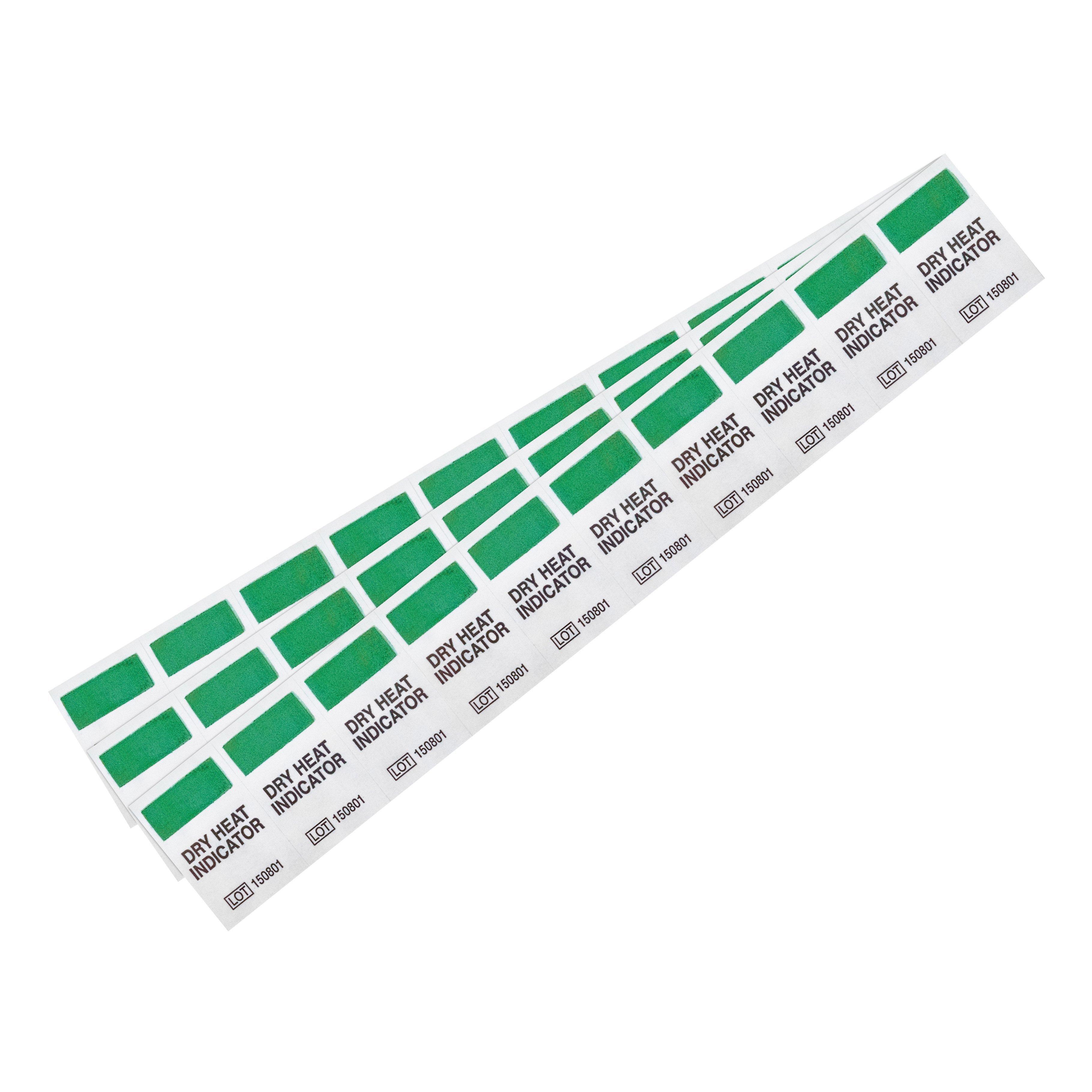 Samolepiace štítky pre teplovzdušnú sterilizáciu 200 ks