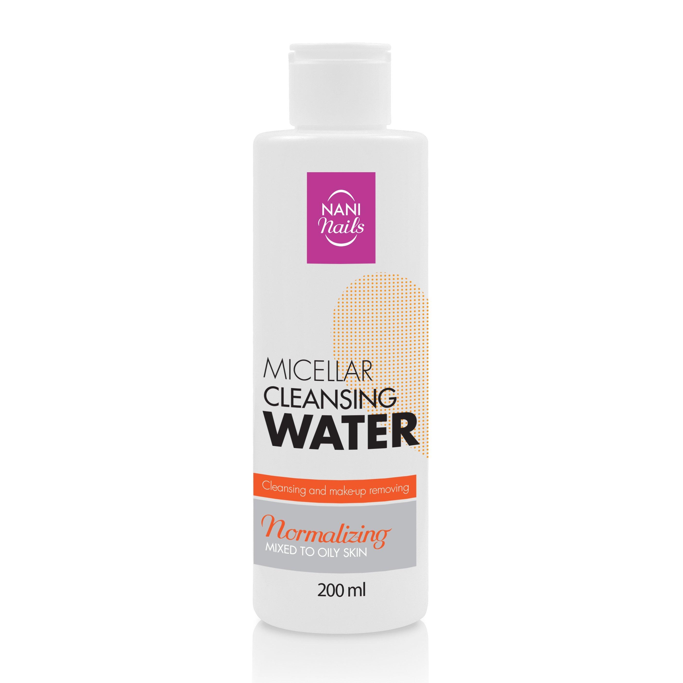 NANI normalizujúca micelárna voda 200 ml - Mastná a problematická pleť
