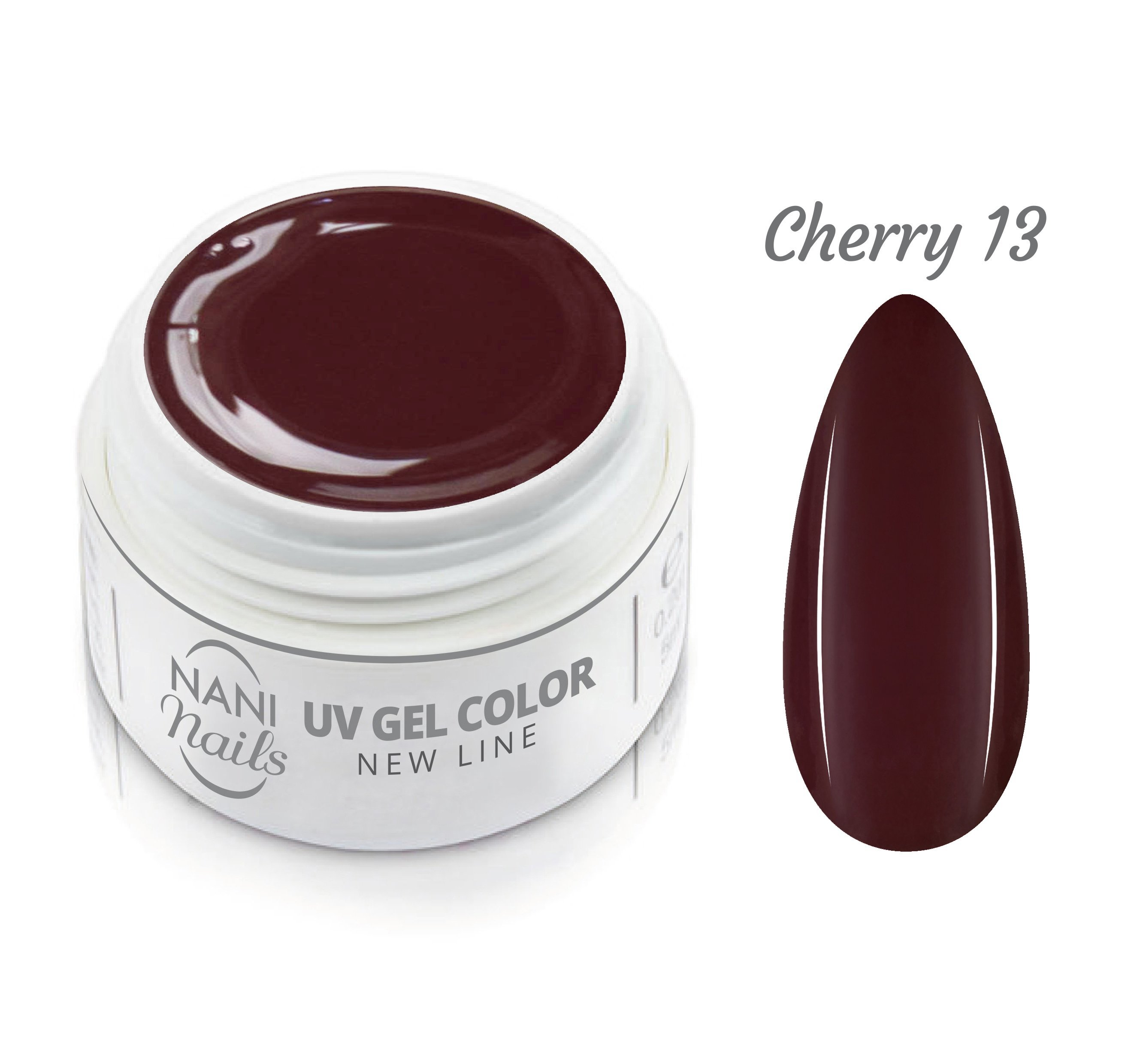 NANI UV gél New Line 5 ml - Cherry