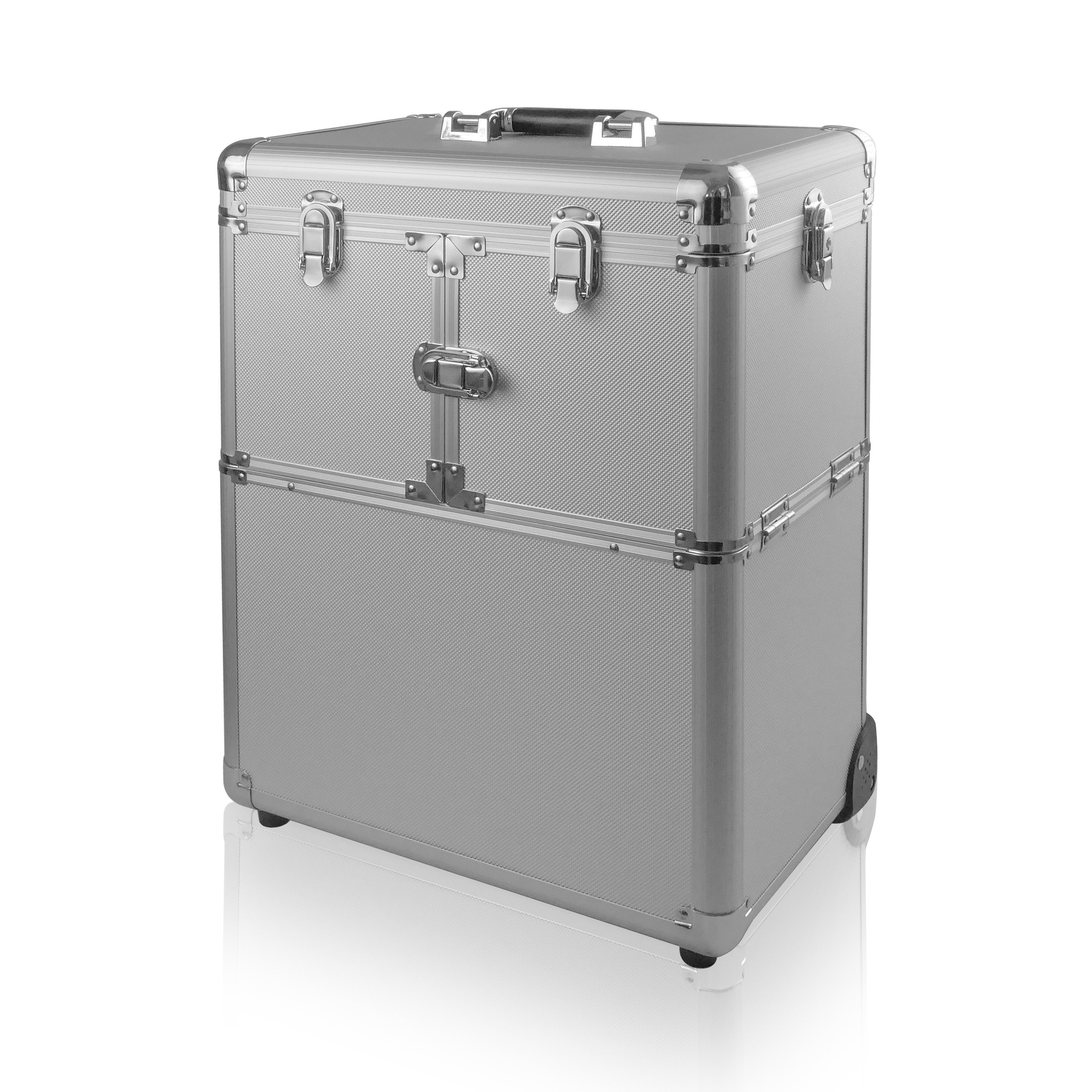 NANI kozmetický kufrík na kolieskach NN30 - Silver