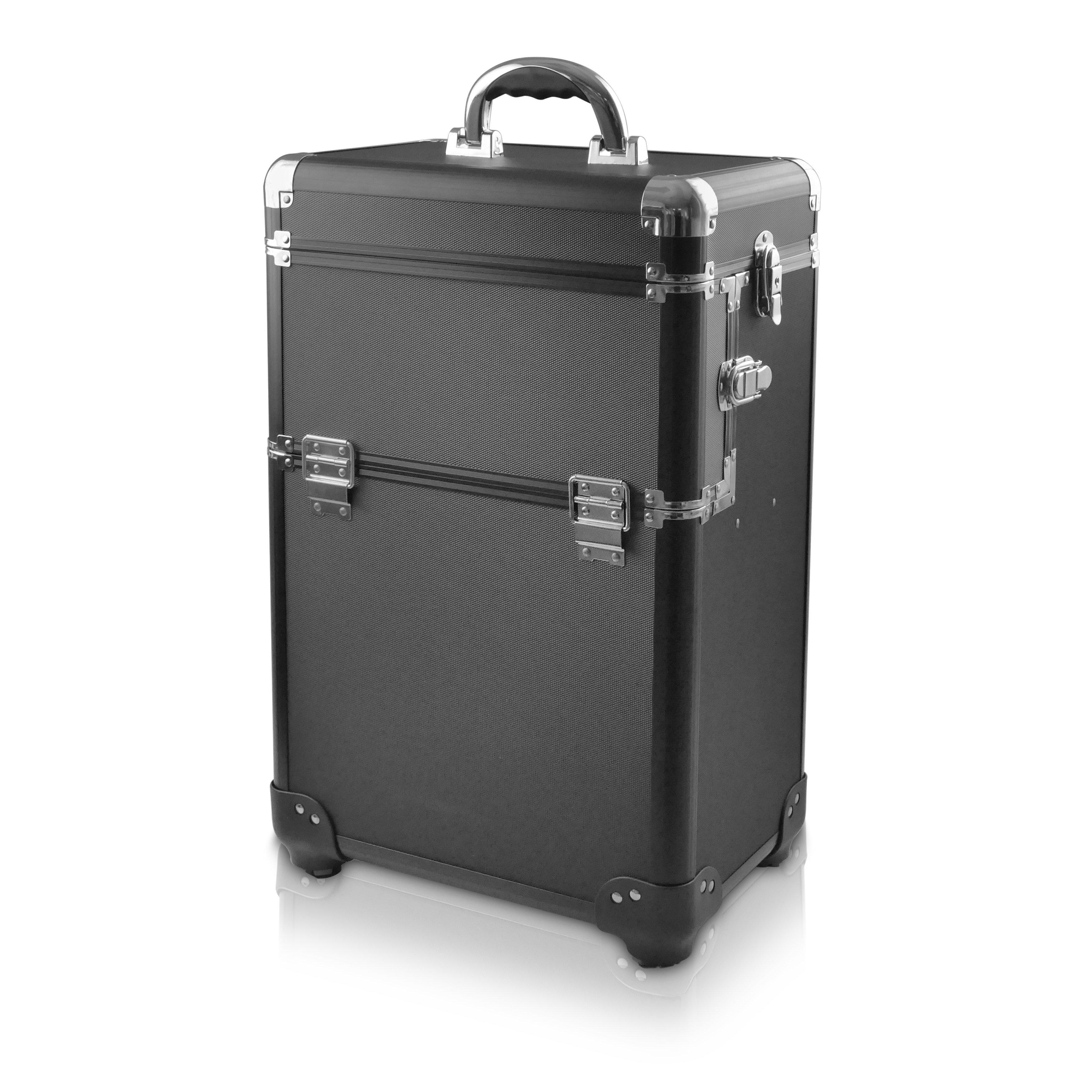 NANI kozmetický kufrík na kolieskach NN31 - Black
