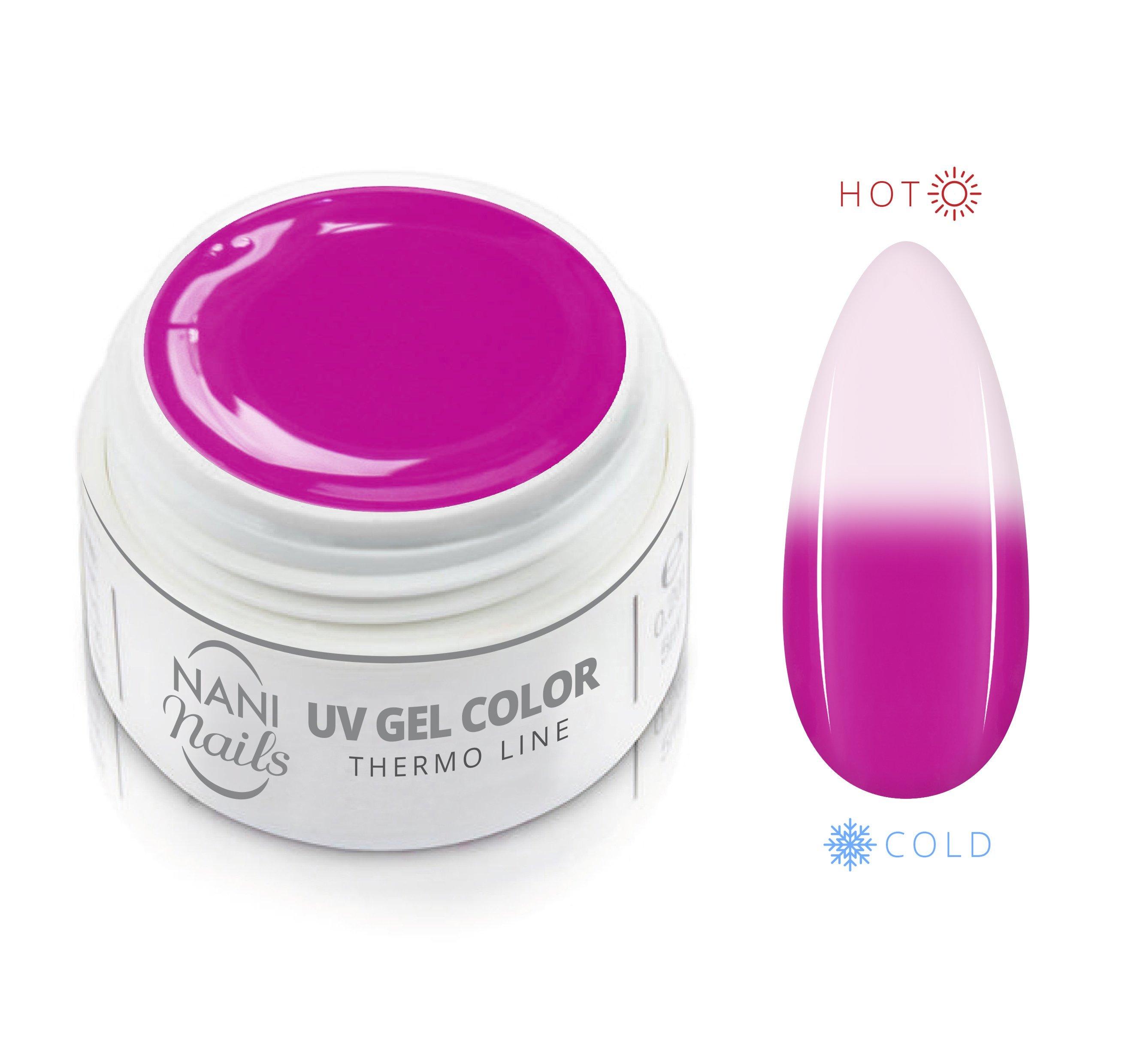 NANI termo UV gél 5 ml - Pink White