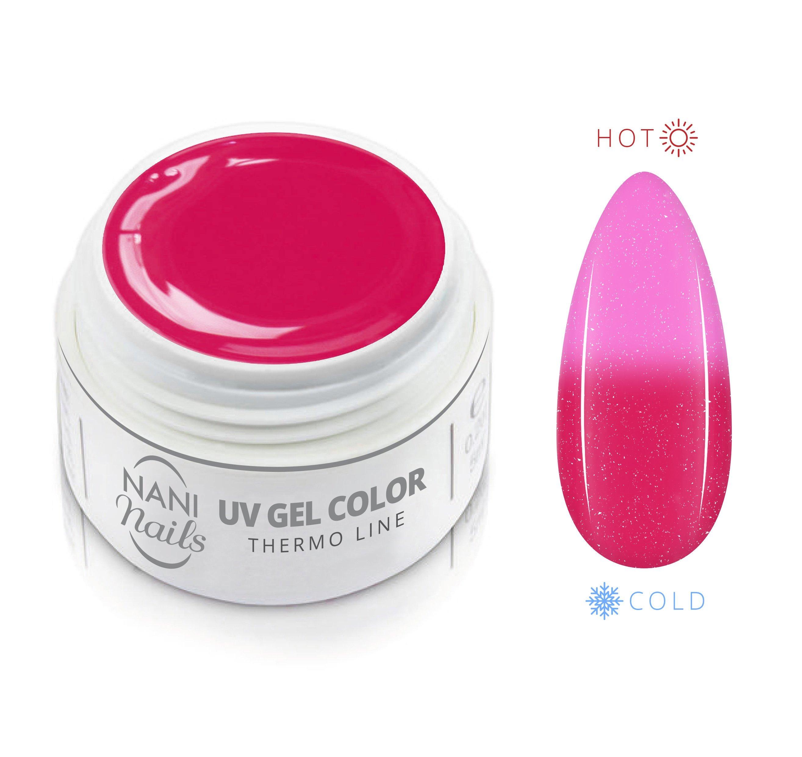 NANI termo UV gél 5 ml - Nice Pink