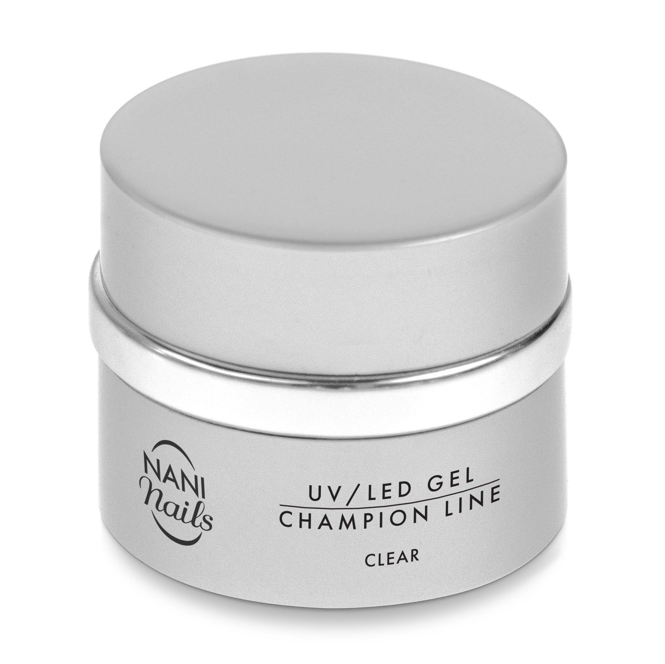 NANI UV/LED gél Champion Line 5 ml - Clear