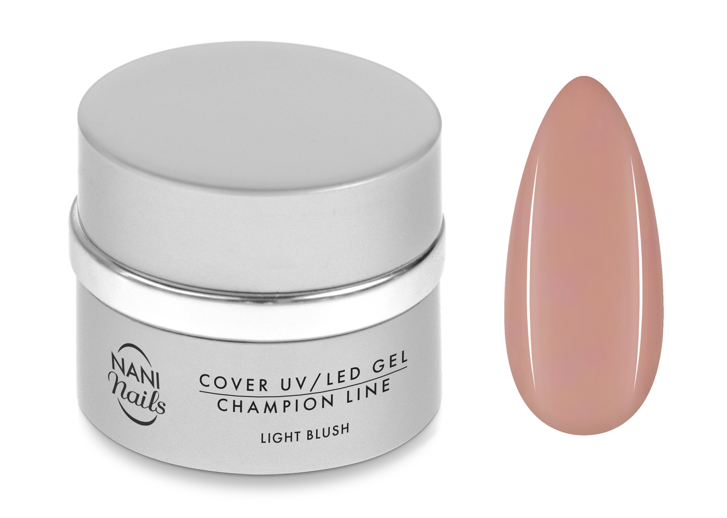 NANI UV/LED gél Champion Line 15 ml - Light Blush