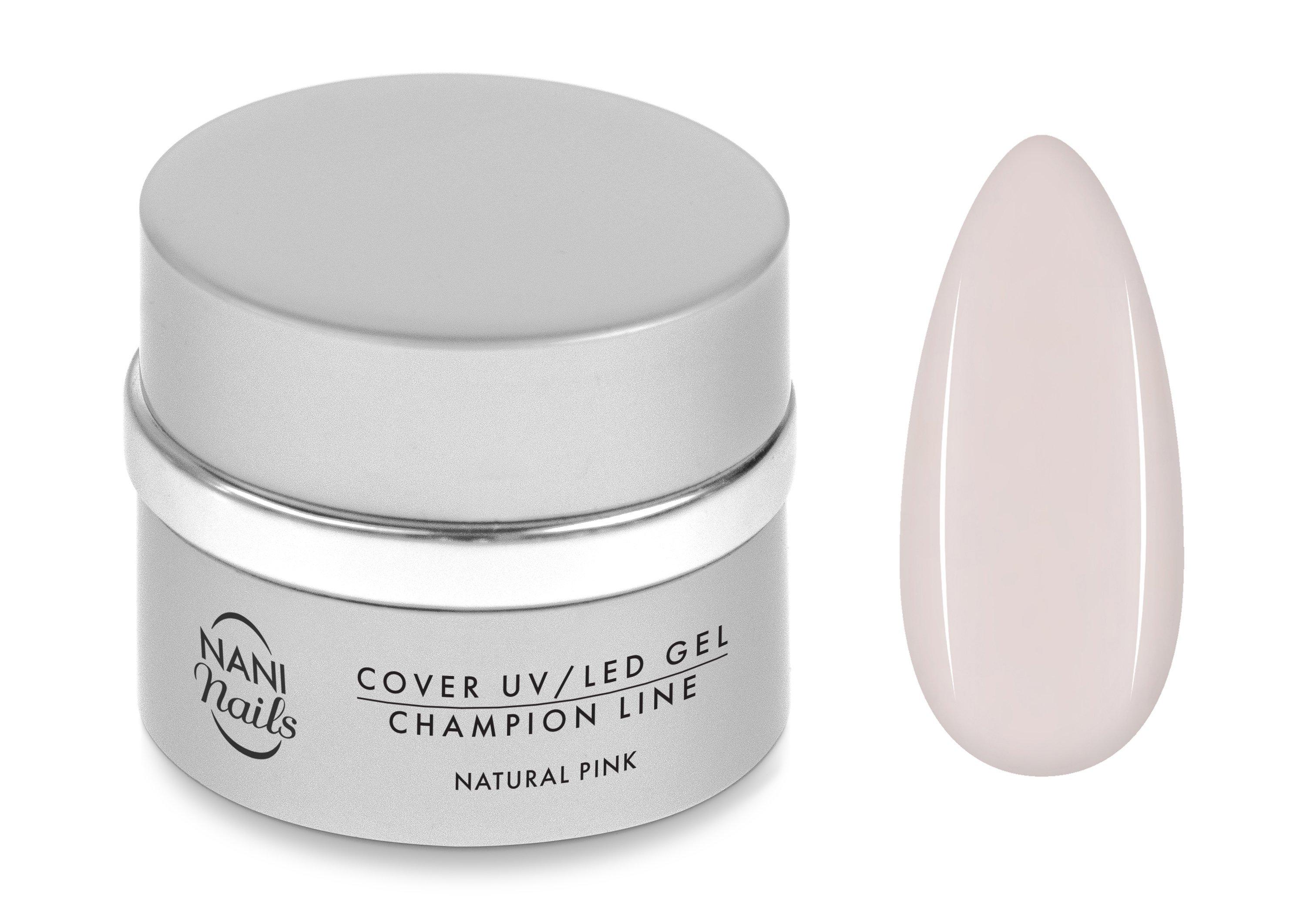 NANI UV/LED gél Champion Line 30 ml - Natural Pink