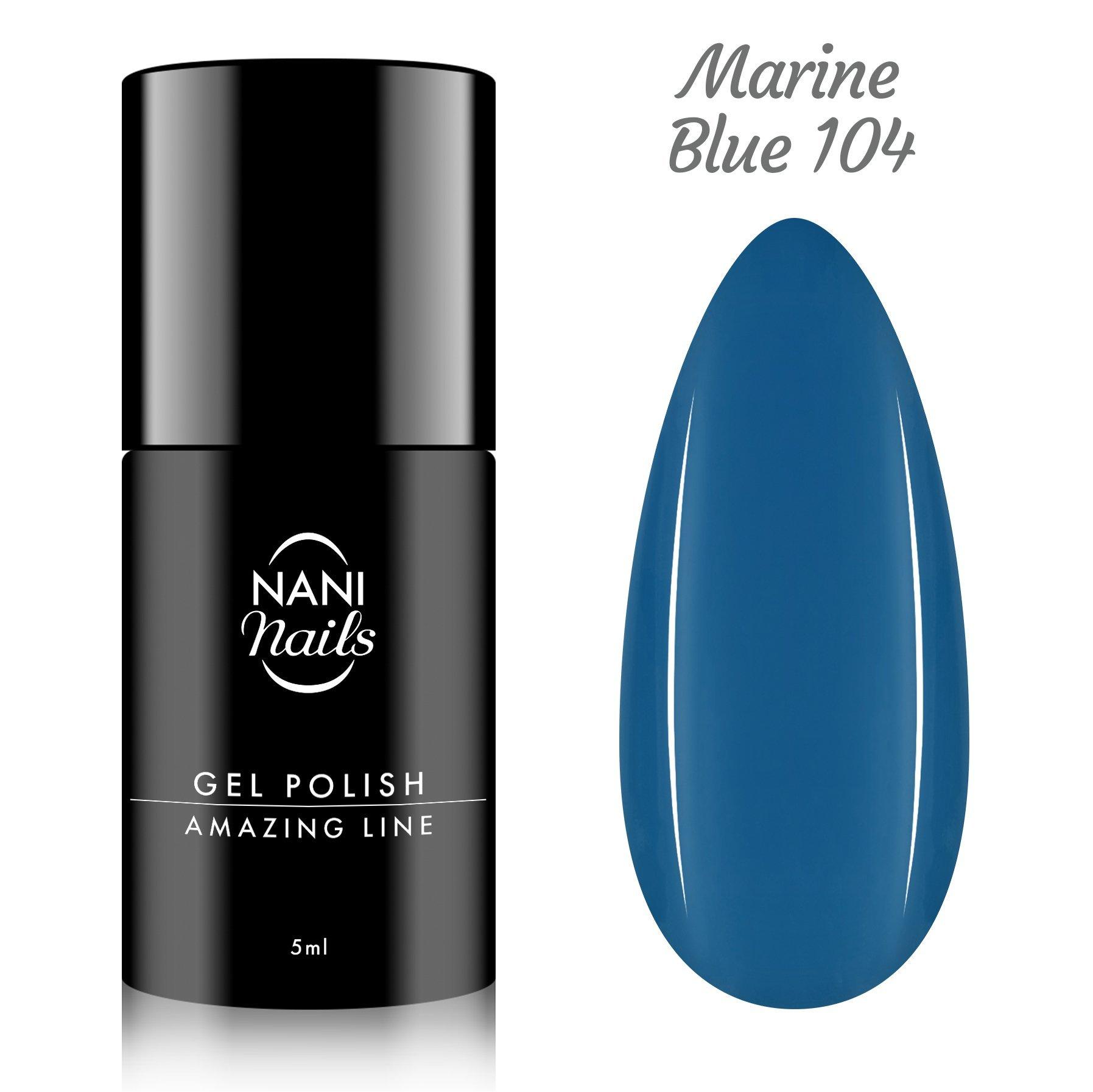 NANI gél lak Amazing Line 5 ml - Marine Blue