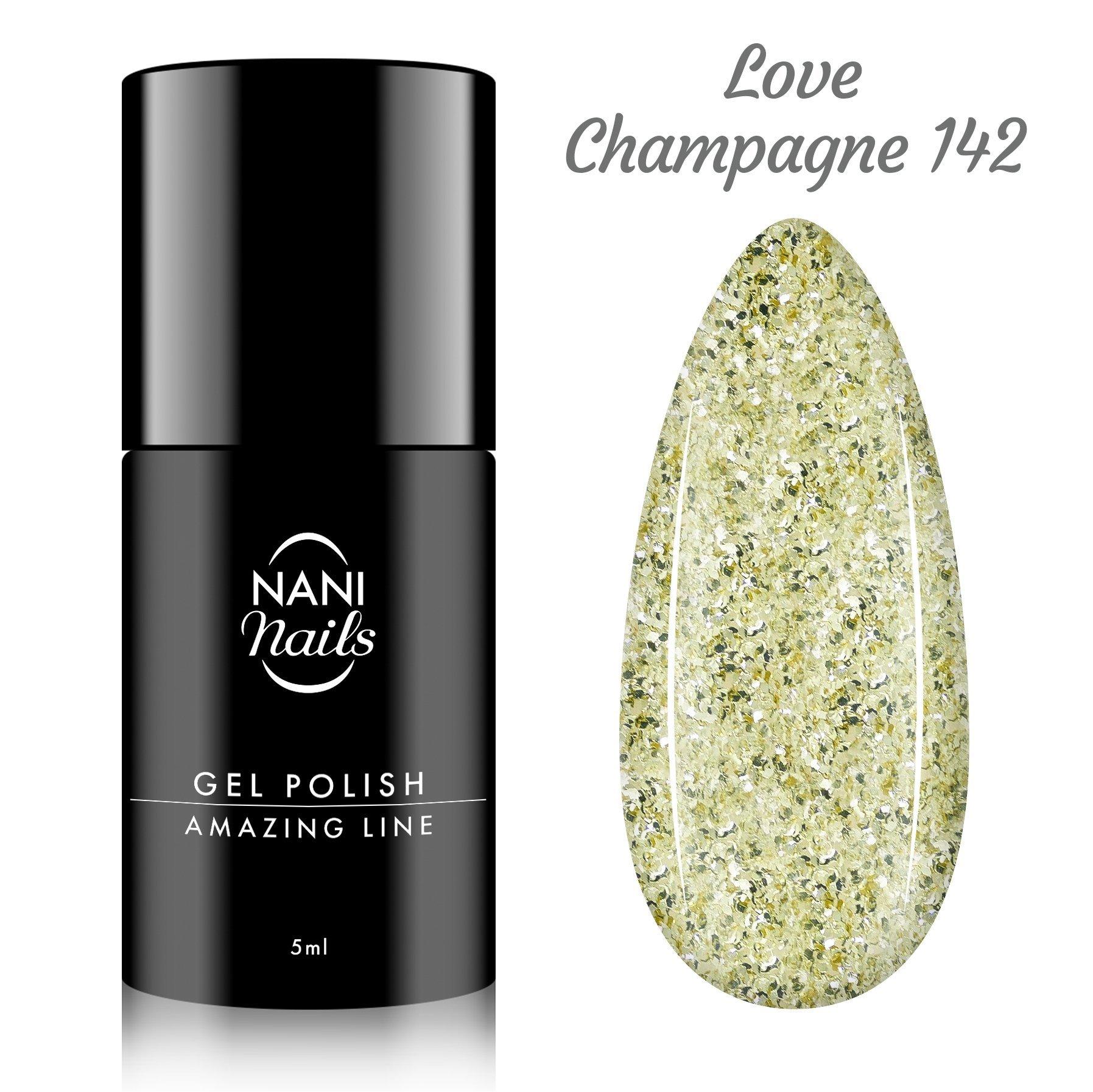 NANI gél lak Amazing Line 5 ml - Love Champagne