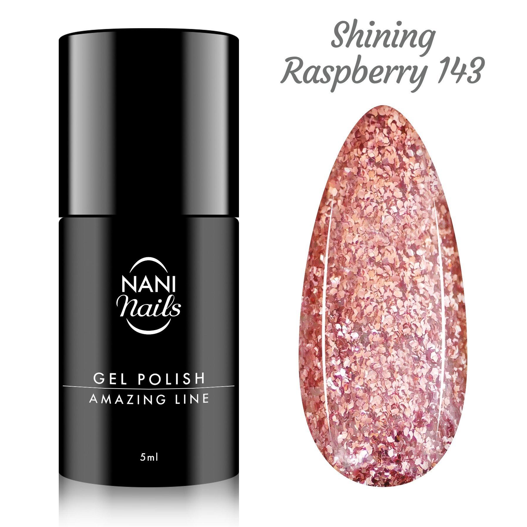 NANI gél lak Amazing Line 5 ml - Shining Raspberry