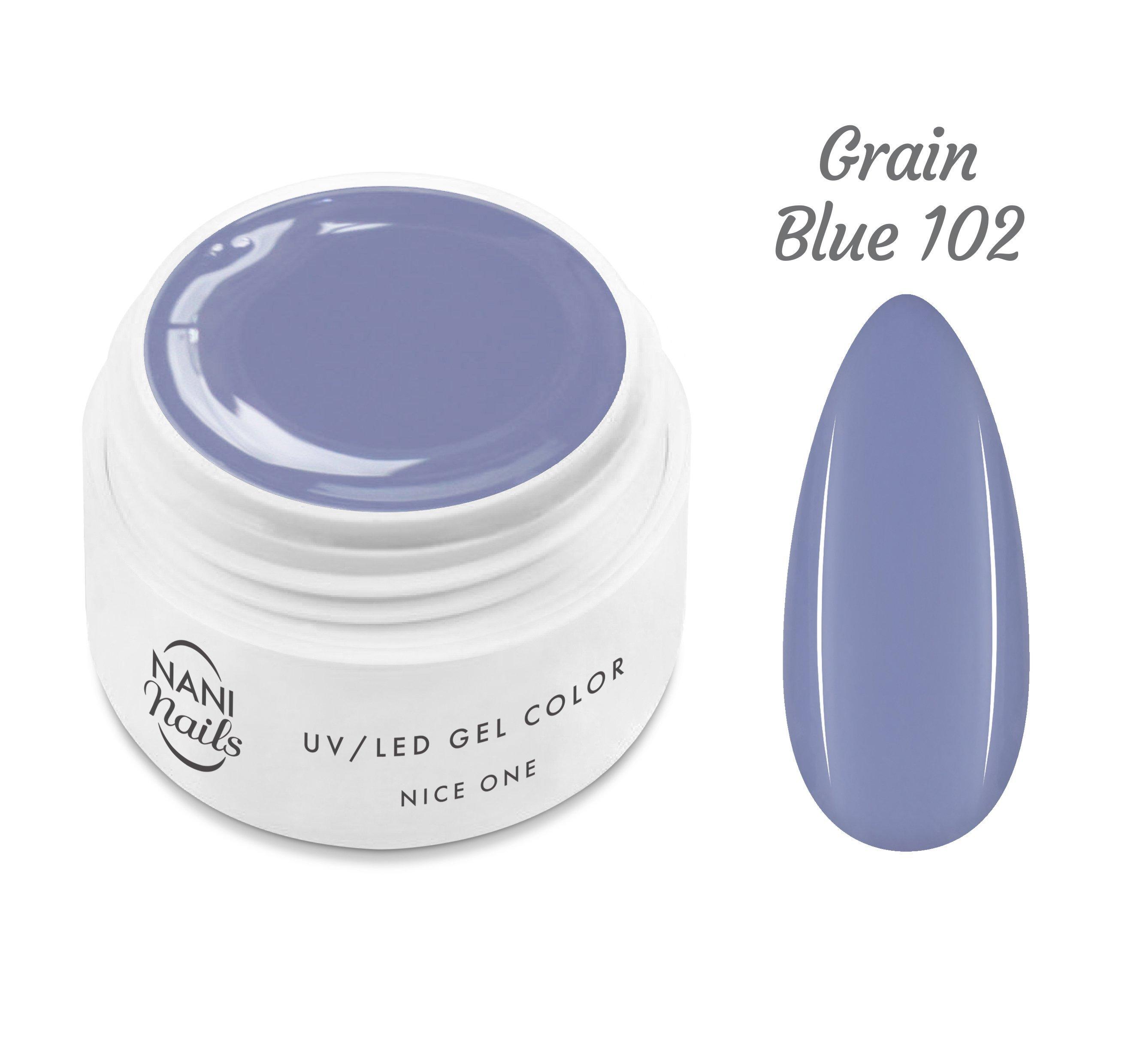 NANI UV gél Nice One Color 5 ml - Grain Blue