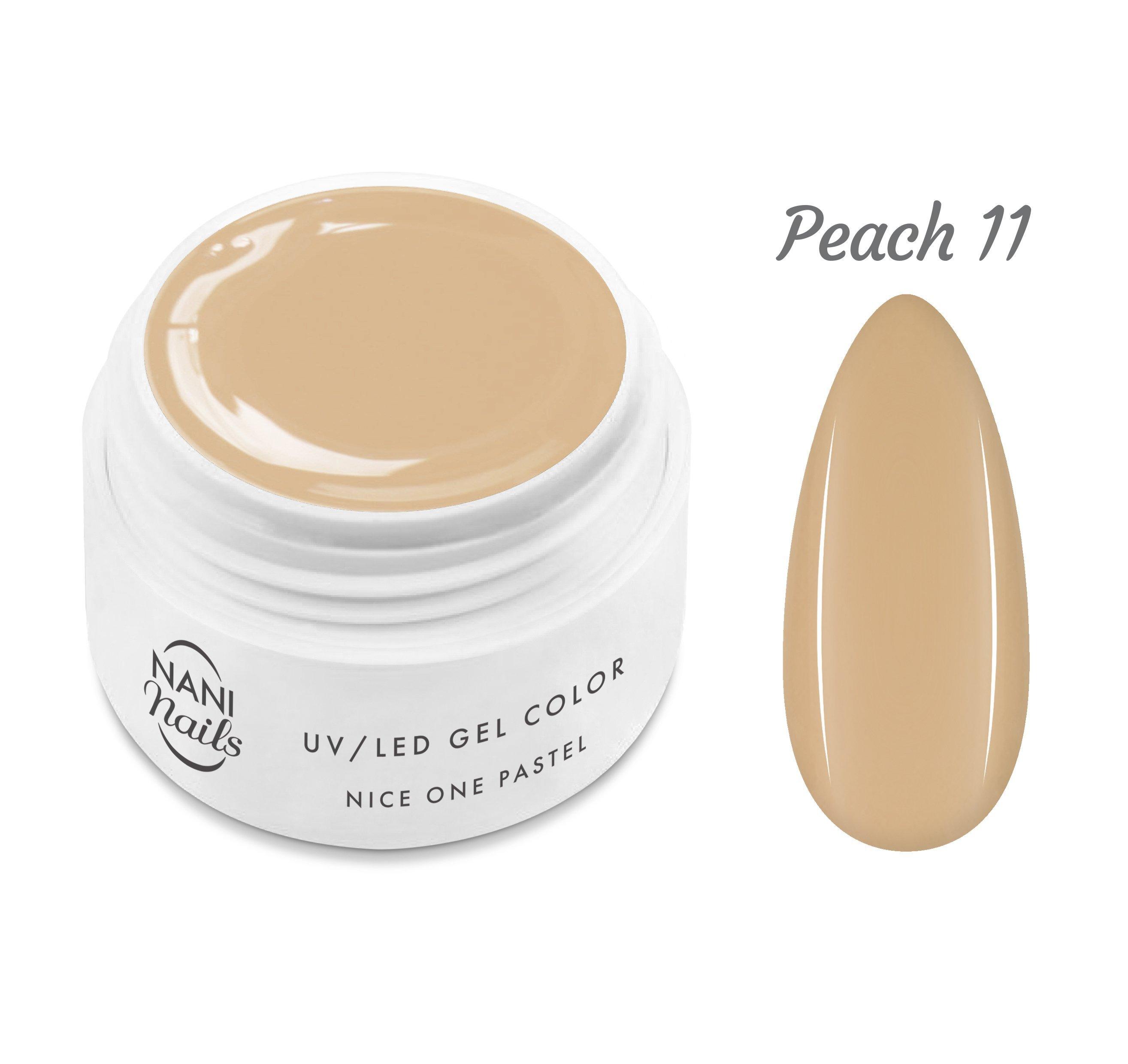 NANI UV gél Nice One Pastel 5 ml - Peach