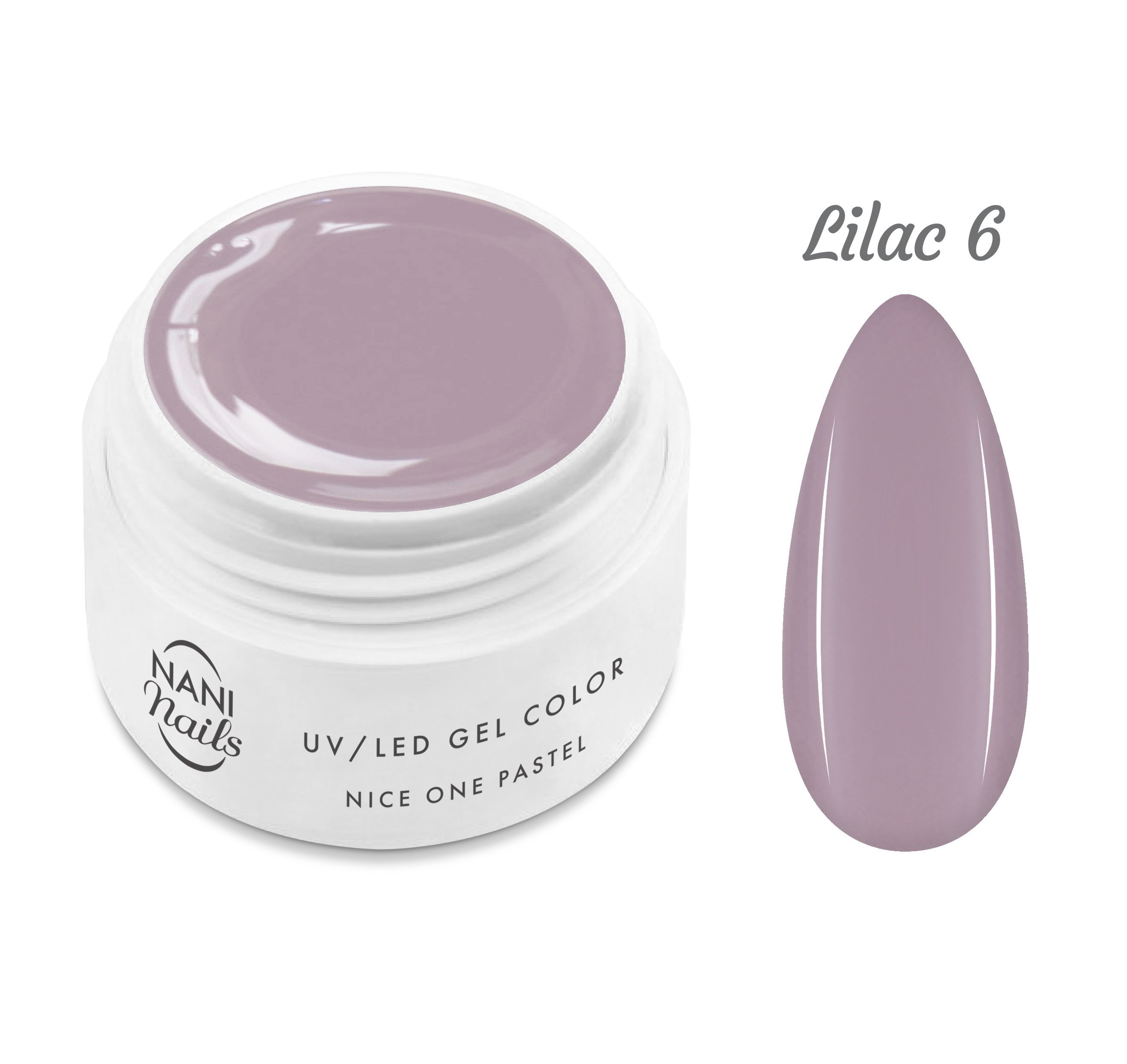 NANI UV gél Nice One Pastel 5 ml - Lilac