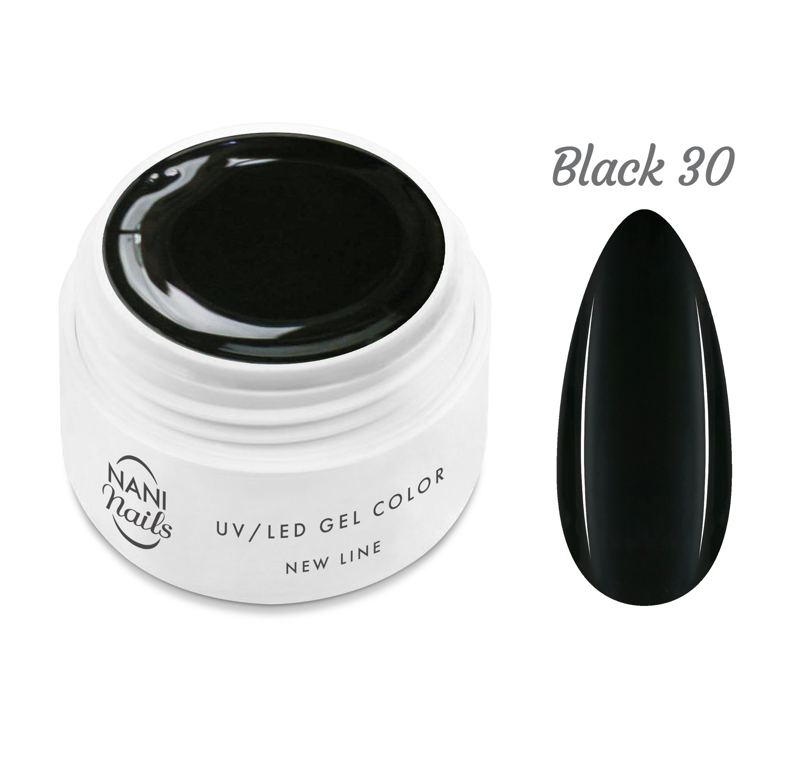 NANI UV gél New Line 5 ml - Black