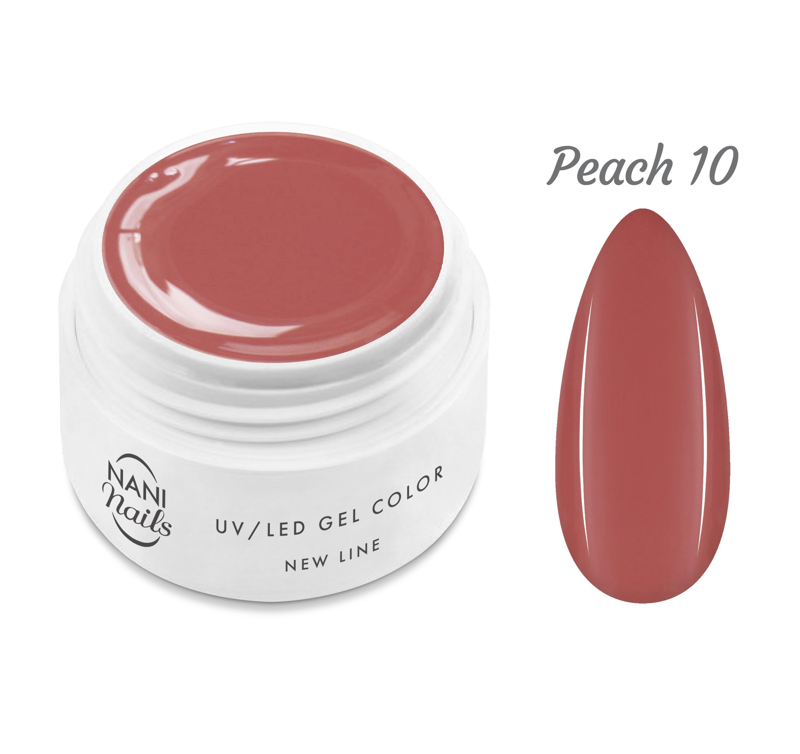 NANI UV gél New Line 5 ml - Peach