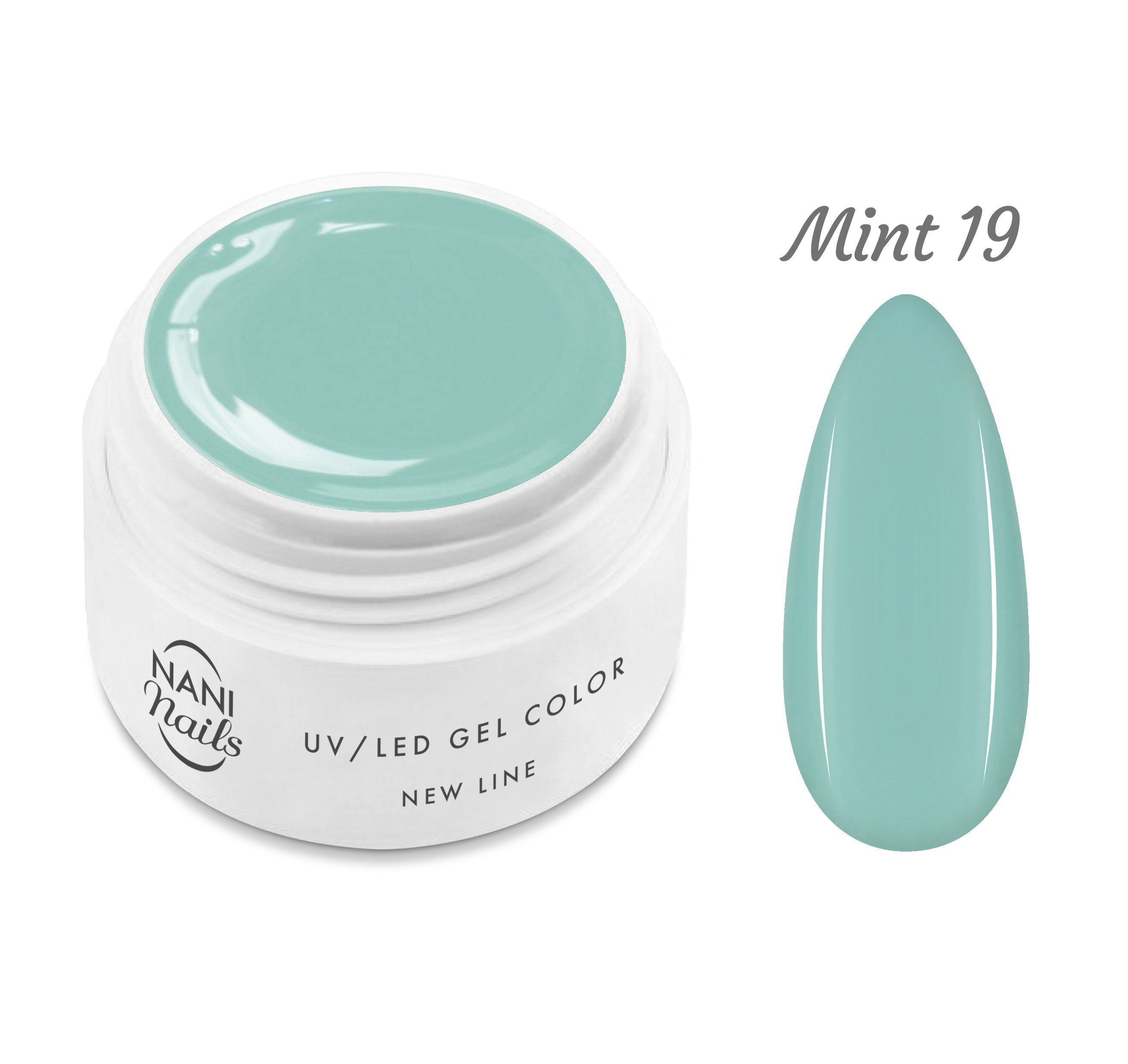 NANI UV gél New Line 5 ml - Mint