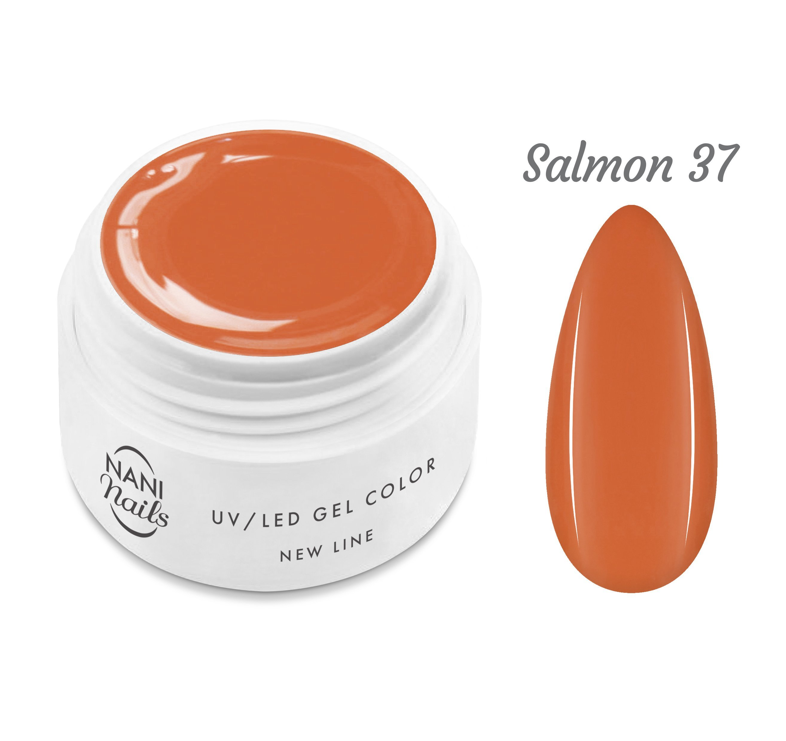NANI UV gél New Line 5 ml - Salmon