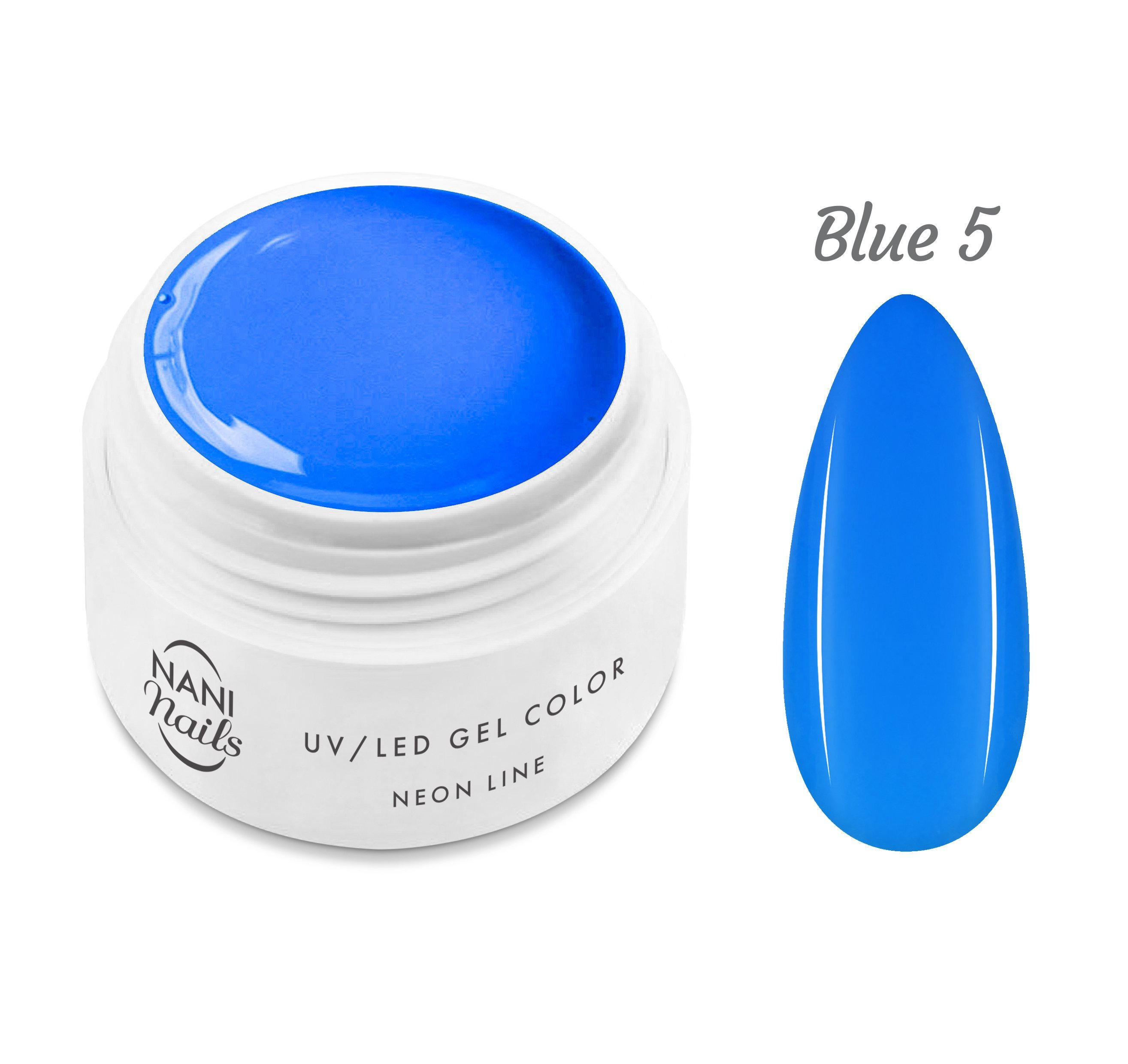 NANI UV gél Neon Line 5 ml - Blue