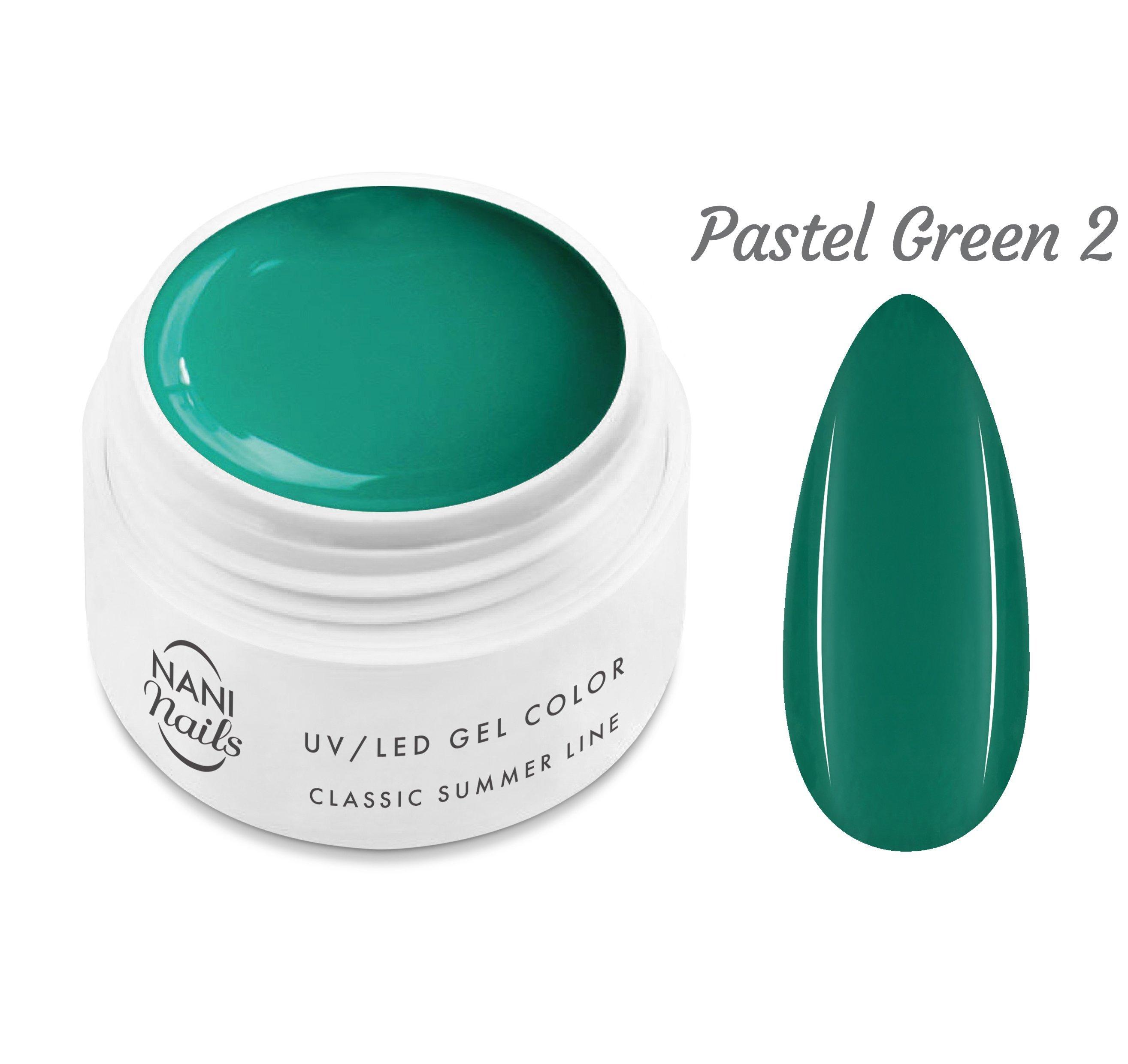 NANI UV gél Classic Summer Line 5 ml - Pastel Green