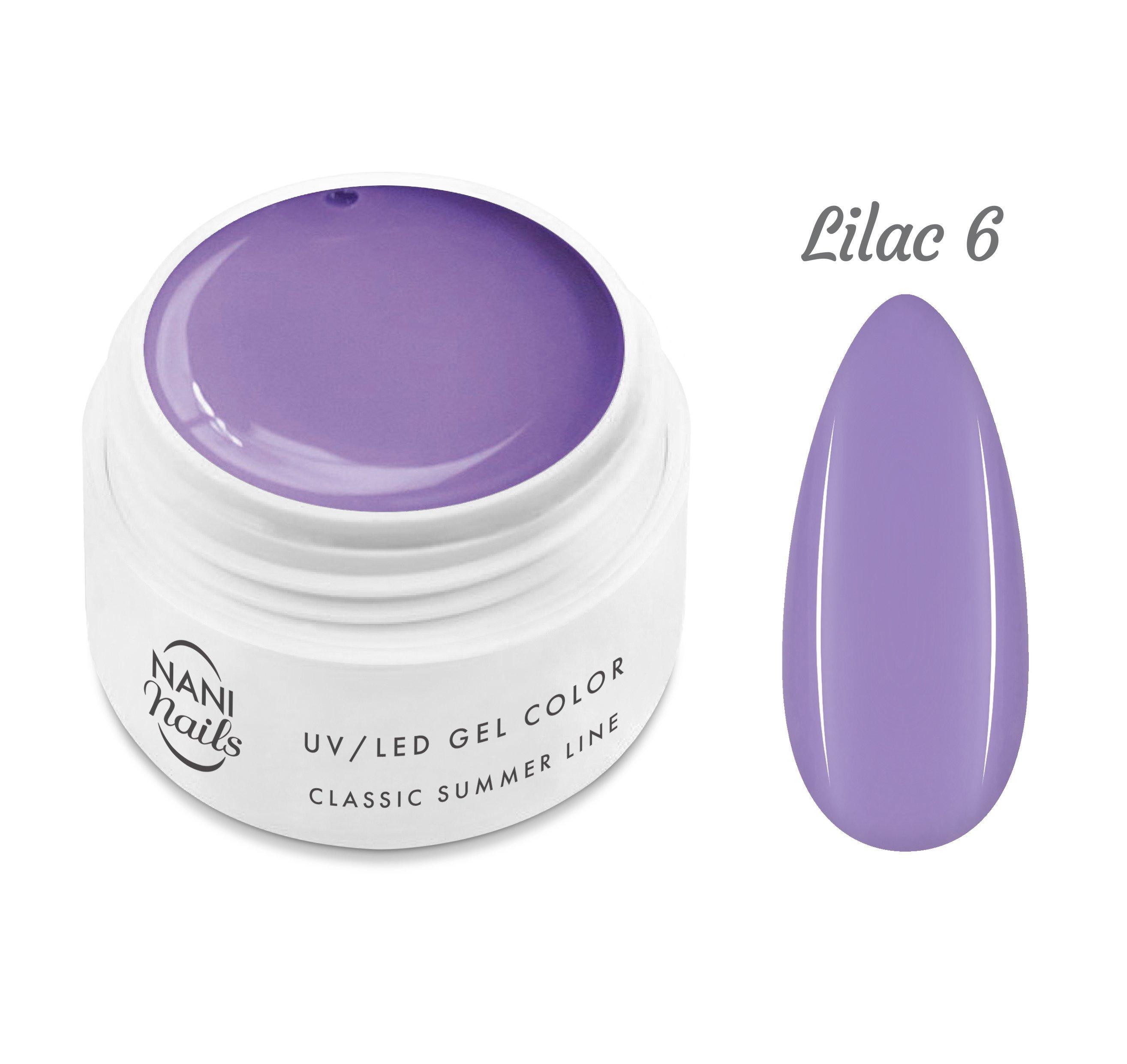 NANI UV gél Classic Summer Line 5 ml - Lilac