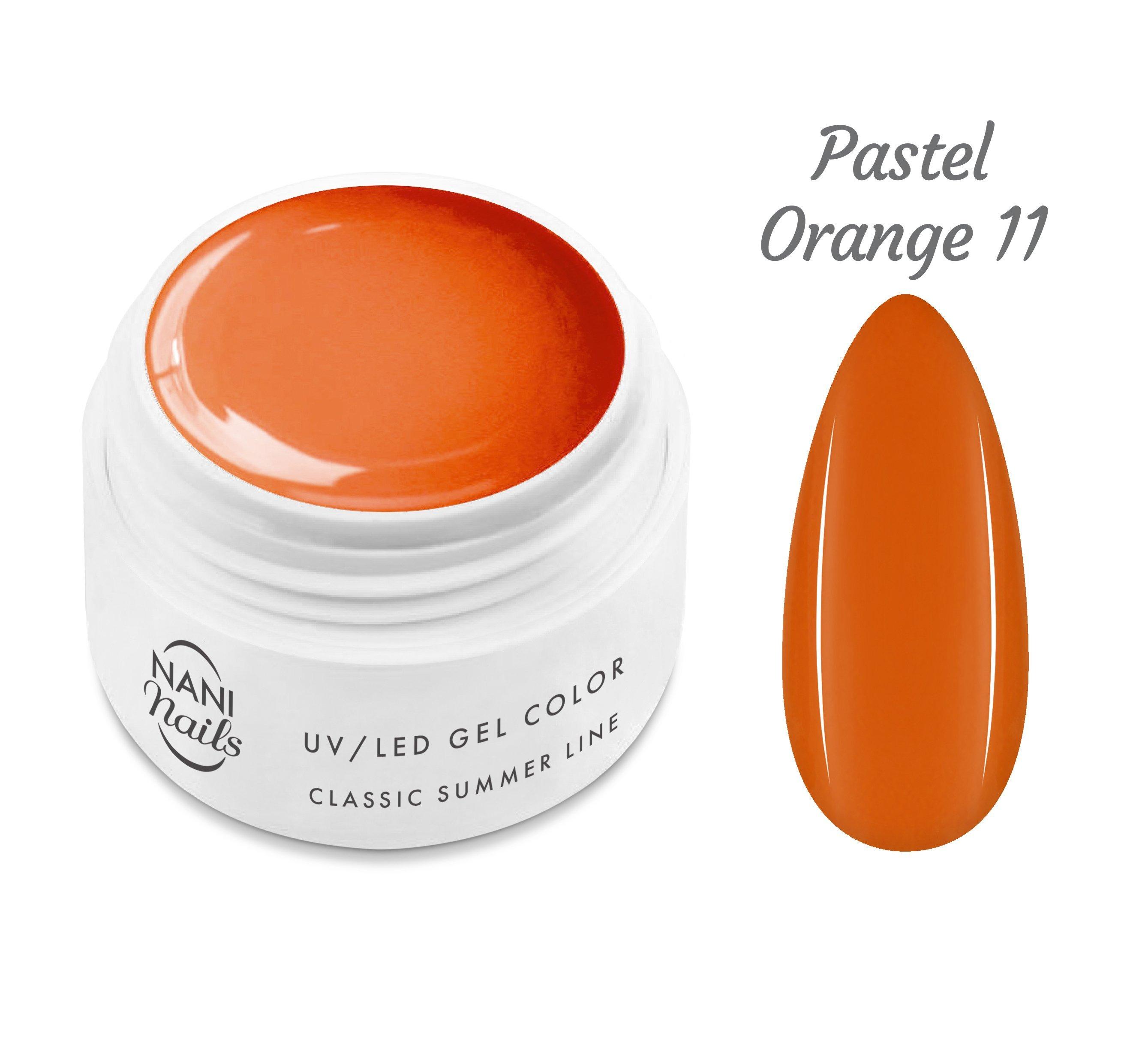 NANI UV gél Classic Summer Line 5 ml - Pastel Orange