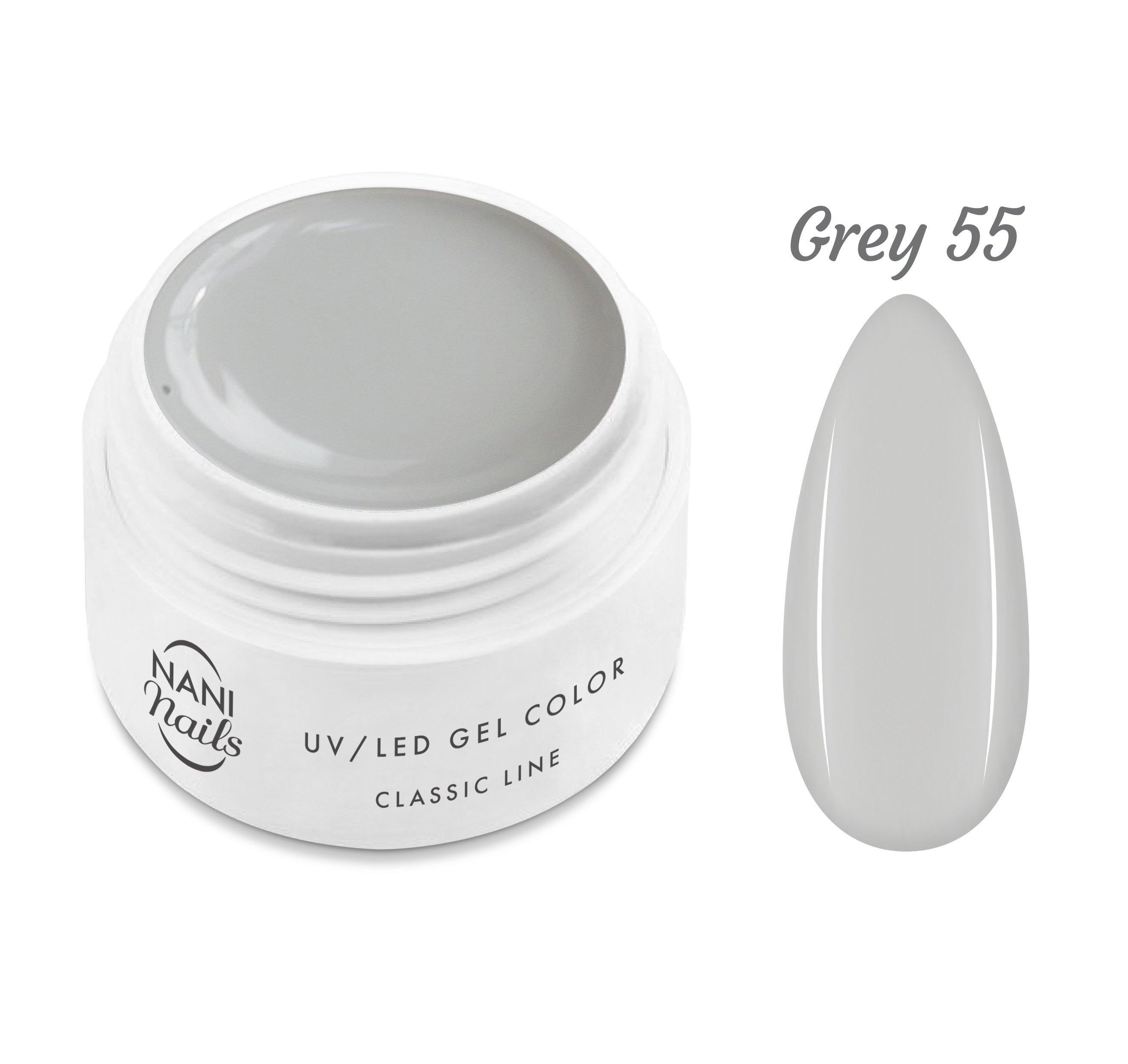 NANI UV gél Classic Line 5 ml - Grey