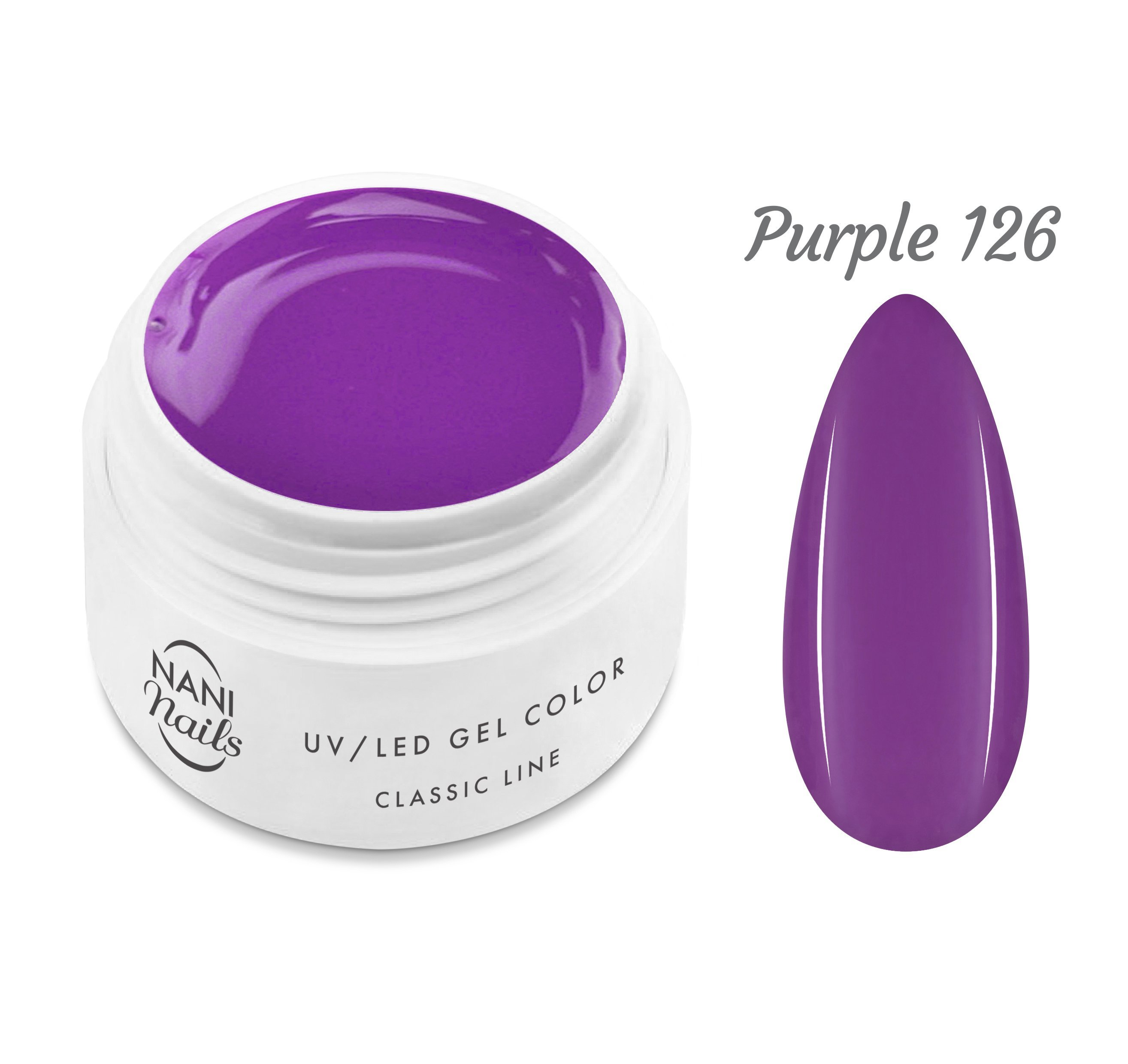NANI UV gél Classic Neon Line 5 ml - Purple