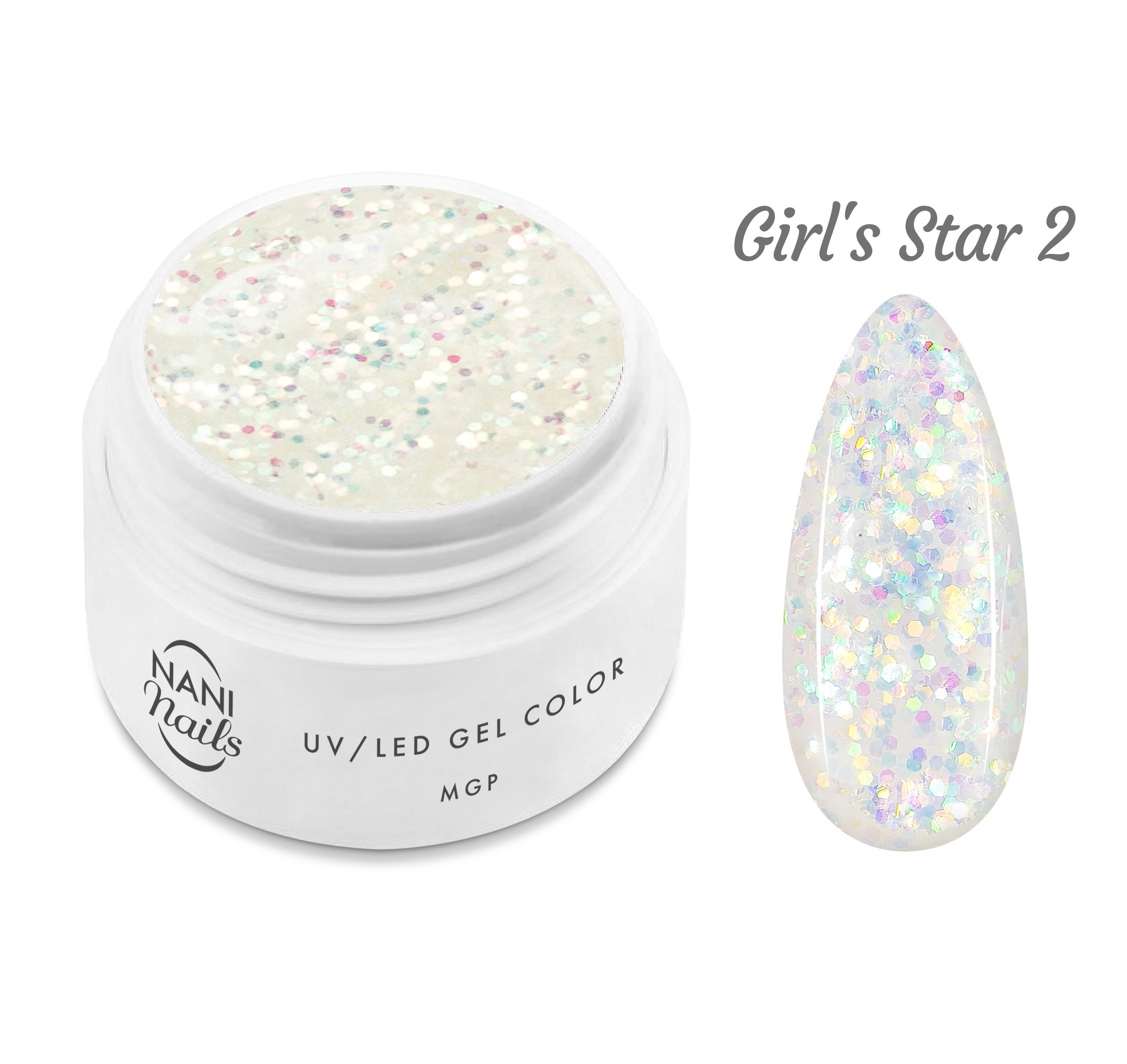 NANI UV gél MGP Line 5 ml - Girl's Star