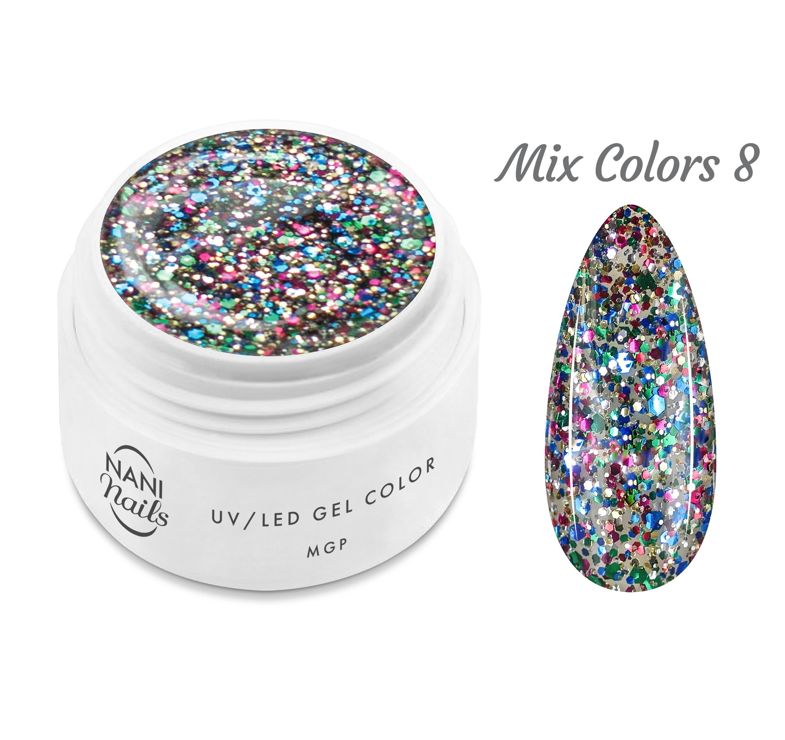 NANI UV gél MGP Line 5 ml - Mix Colors
