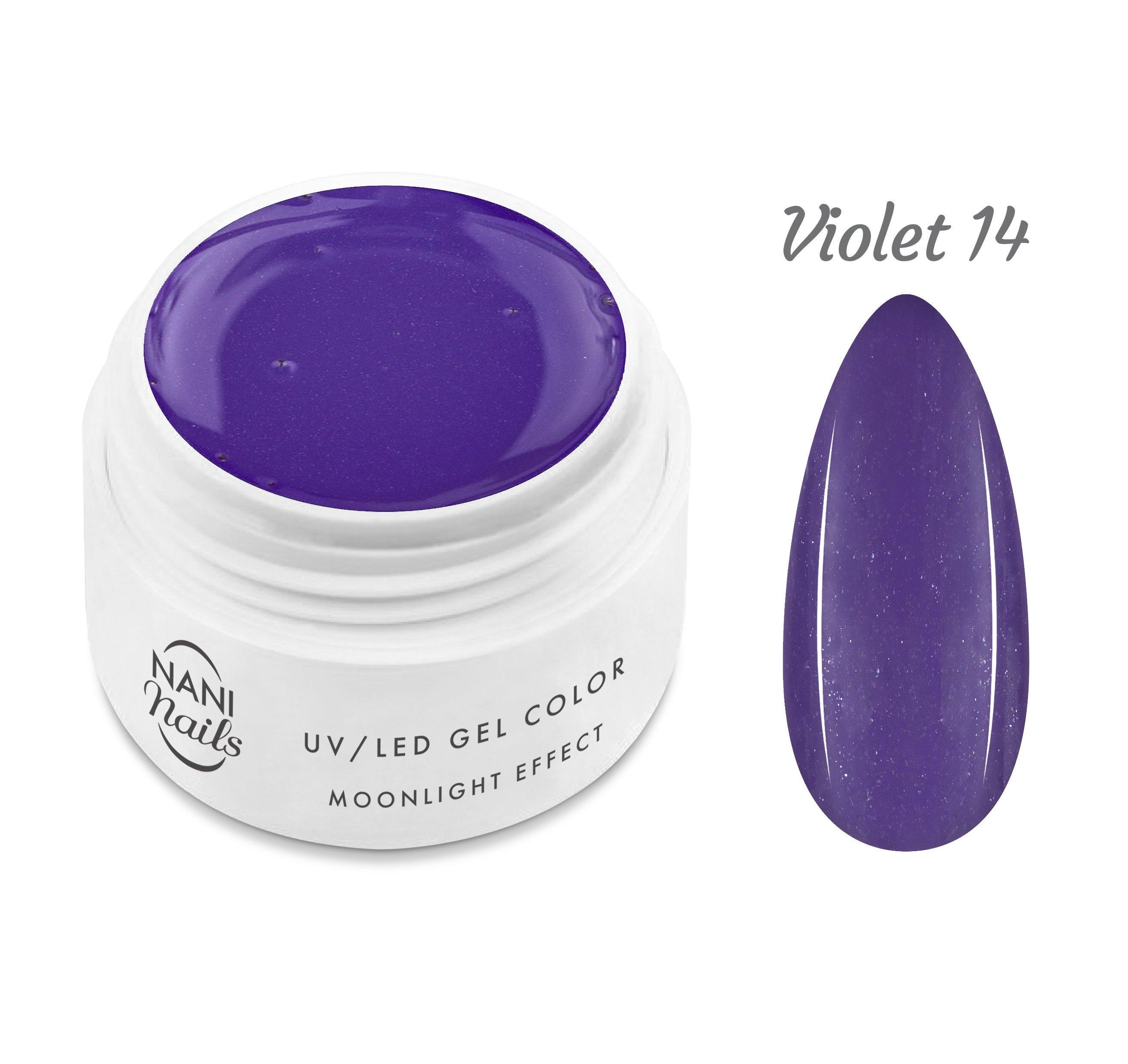 NANI UV gél Moonlight Effect 5 ml - Violet