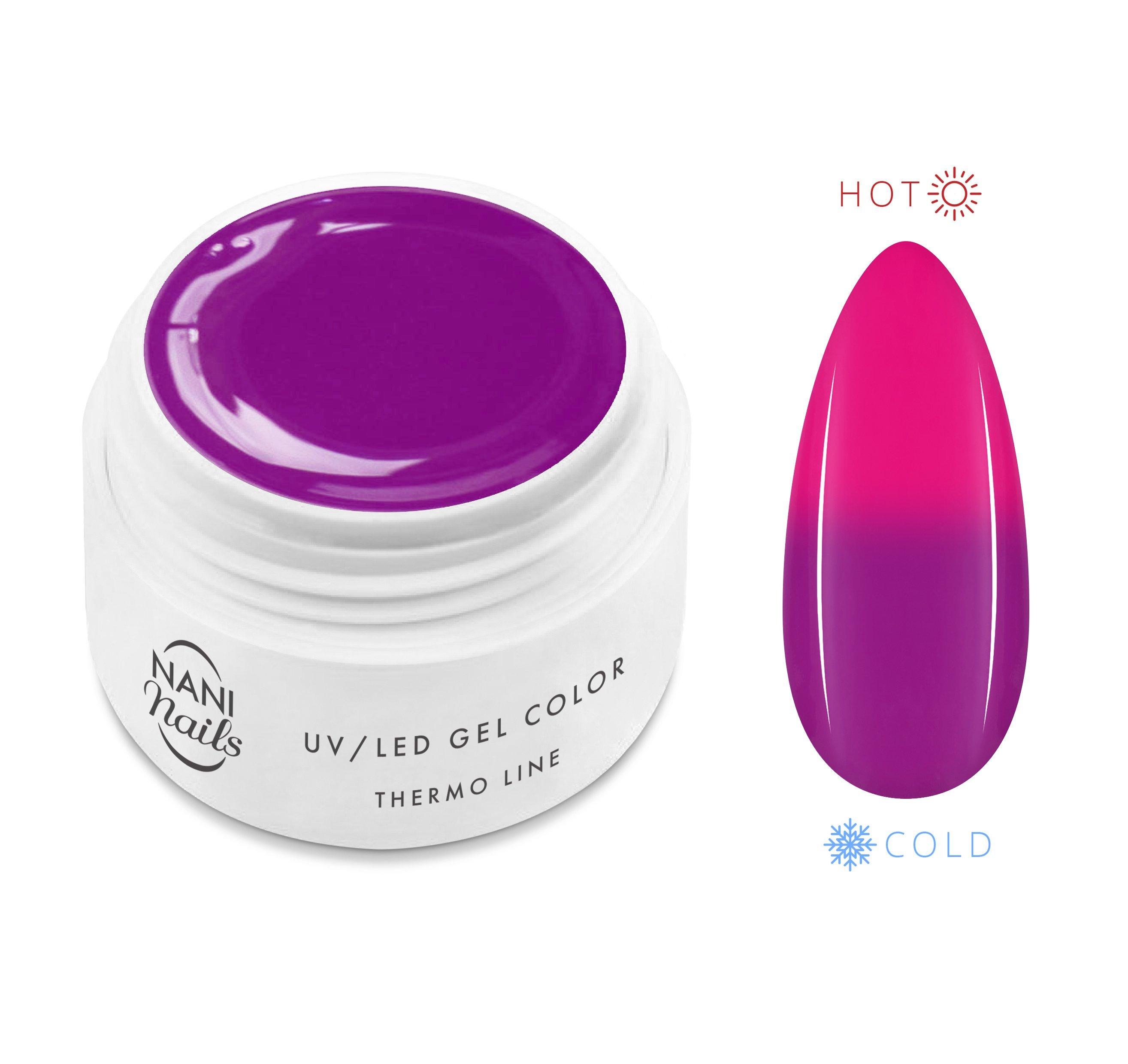 NANI termo UV gél 5 ml - Violet Neon Pink