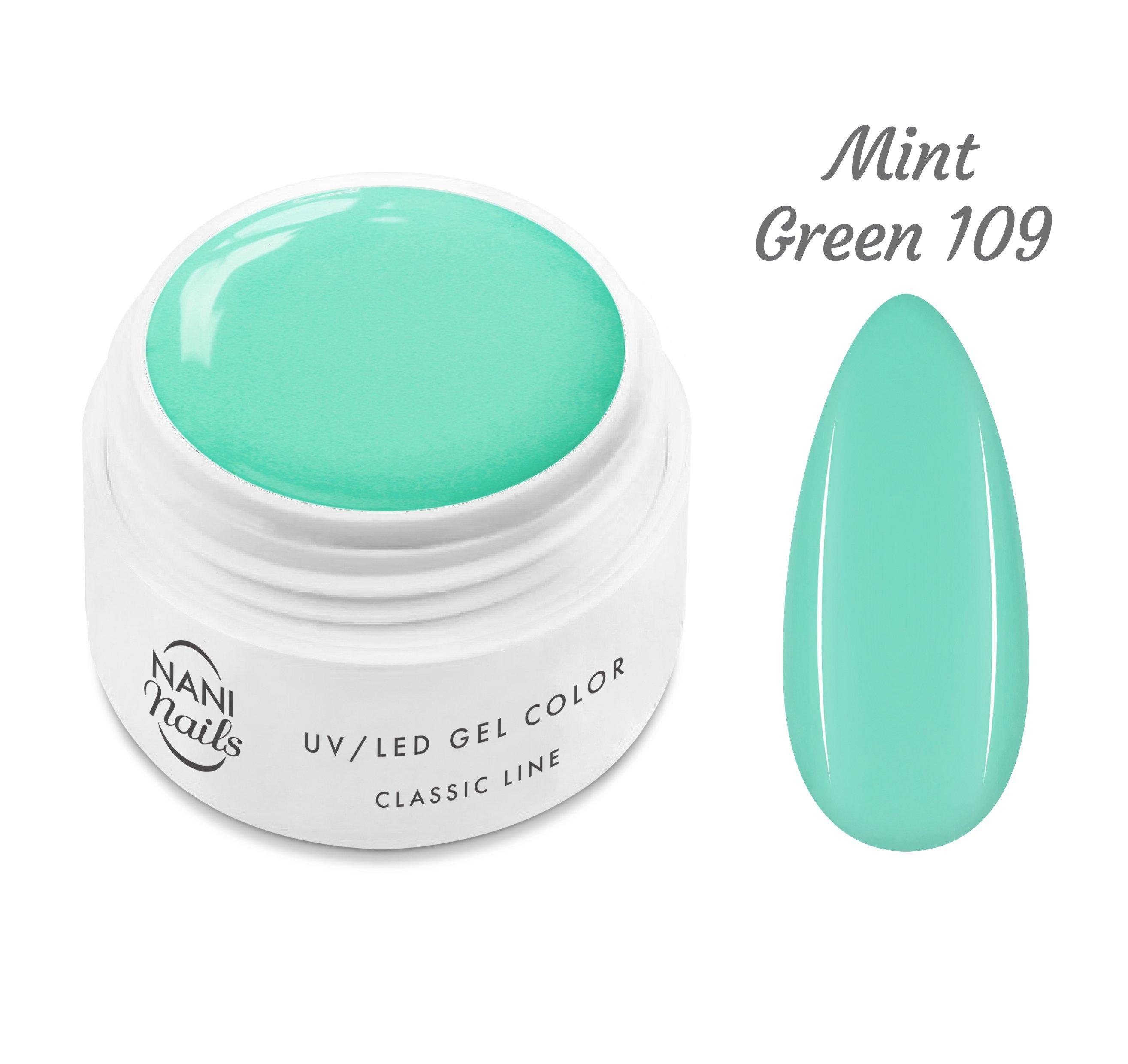 NANI UV gél Classic Line 5 ml - Mint Green