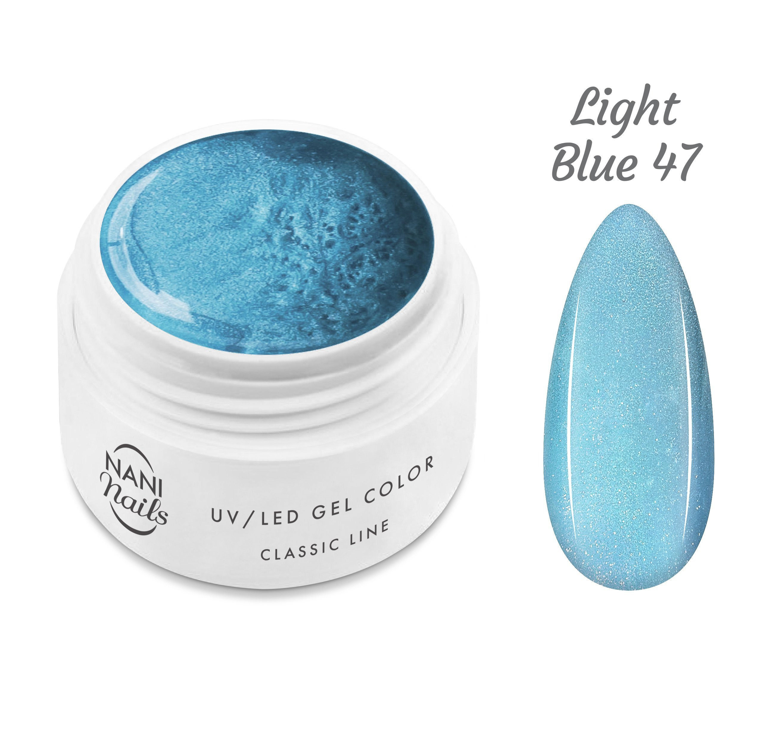 NANI UV gél Classic Line 5 ml - Light Blue
