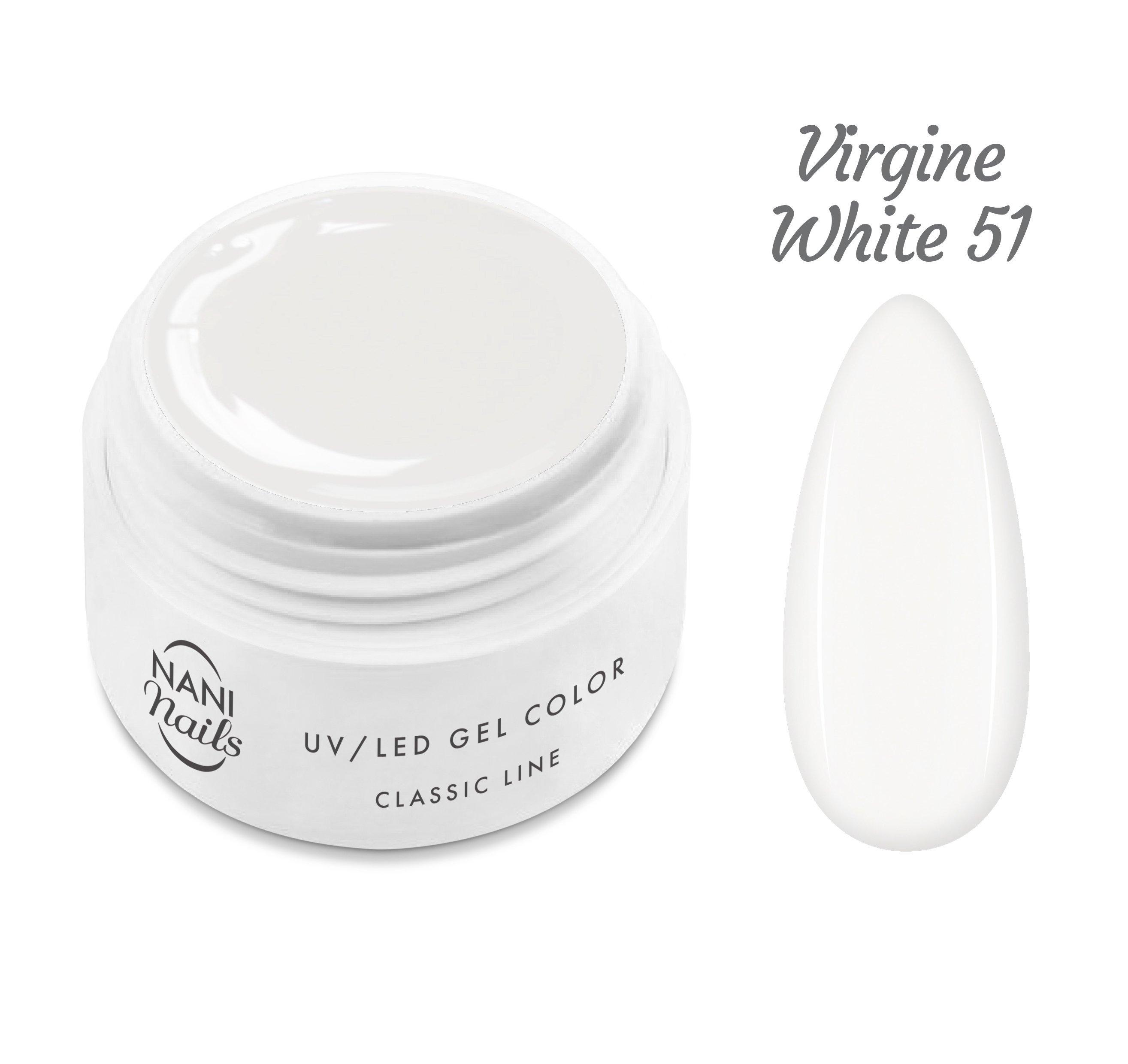 NANI UV gél Classic Line 5 ml - Virgine White