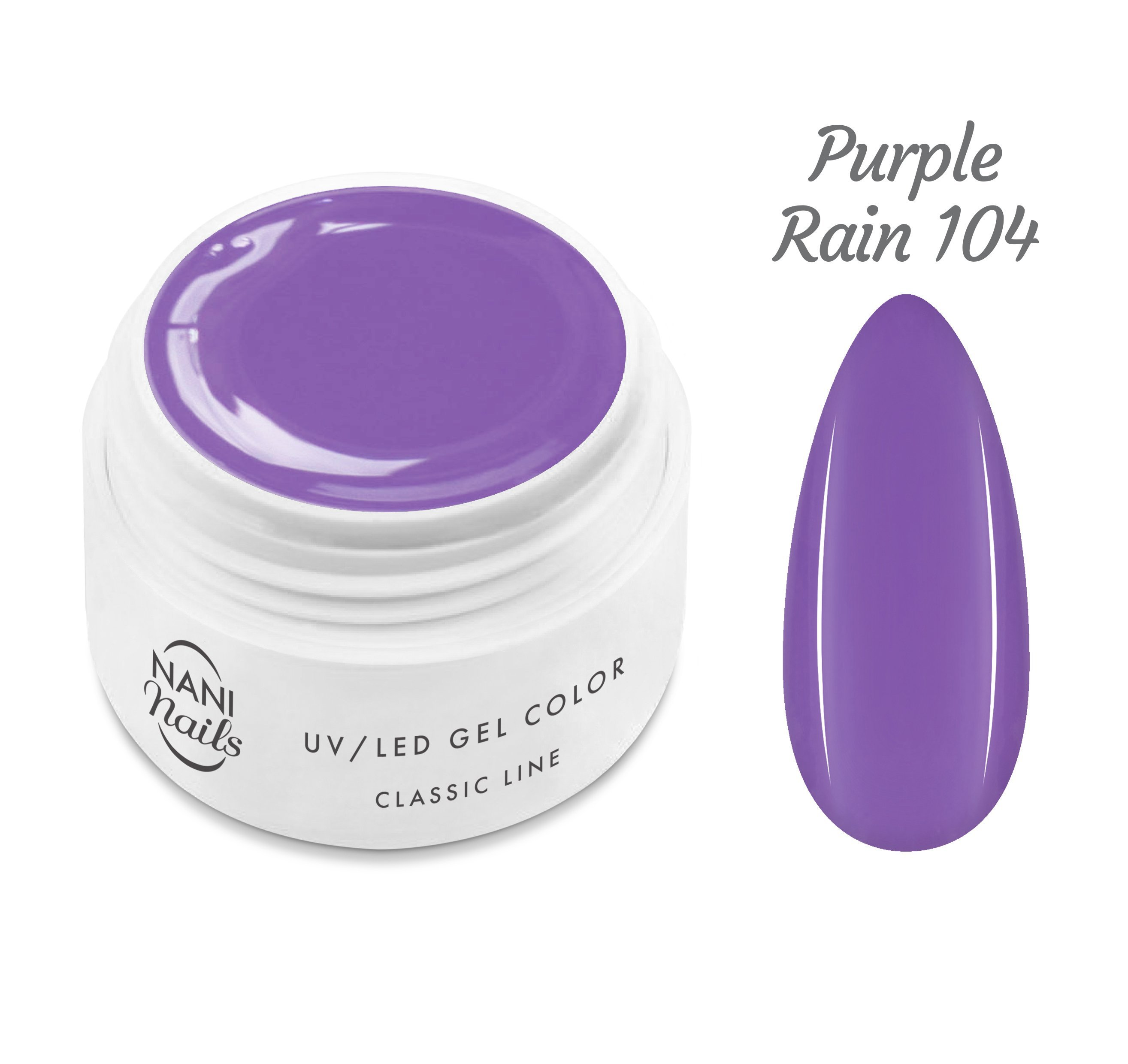 NANI UV gél Classic Line 5 ml - Purple Rain