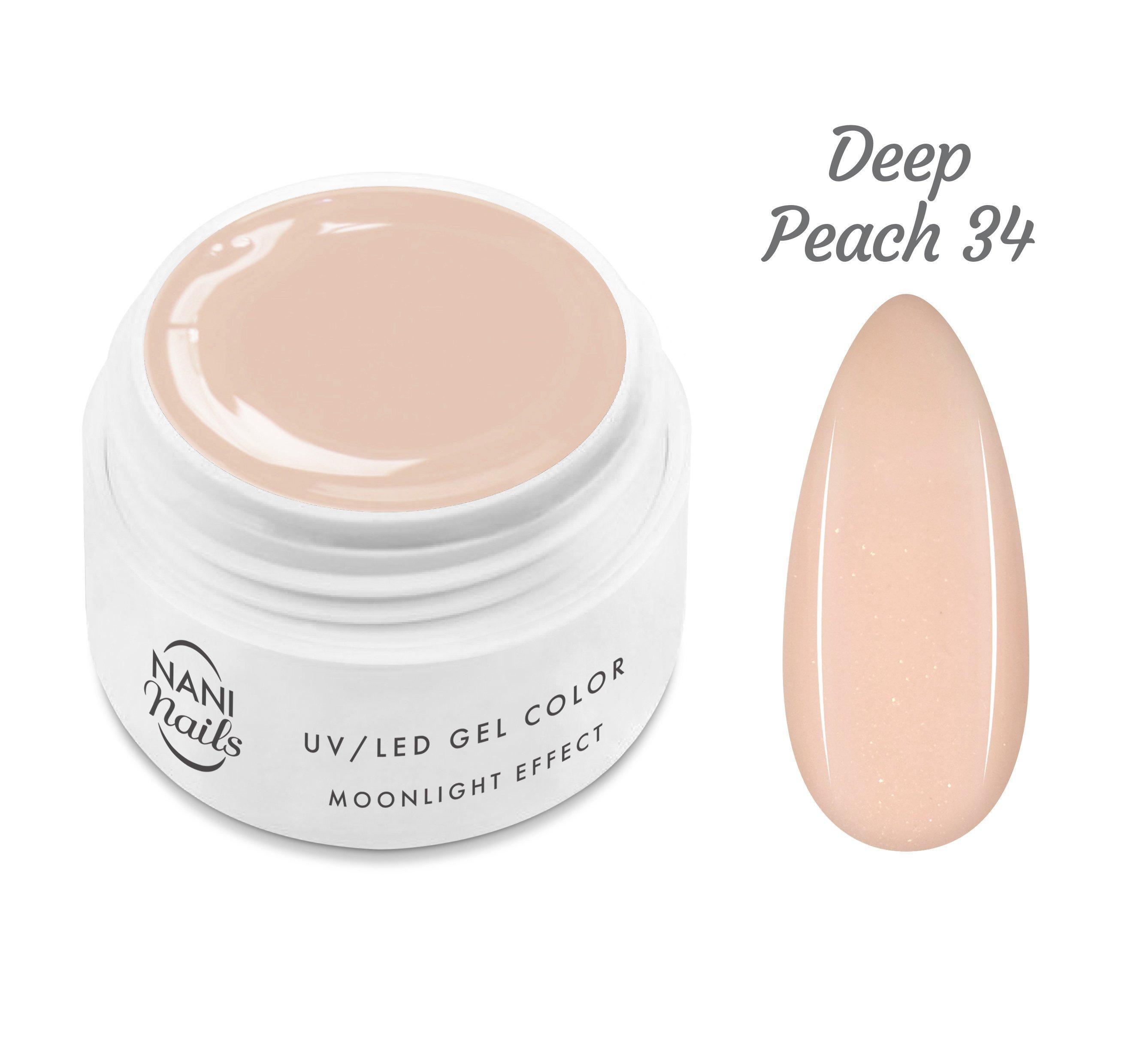 NANI UV gél Moonlight Effect 5 ml - Deep Peach