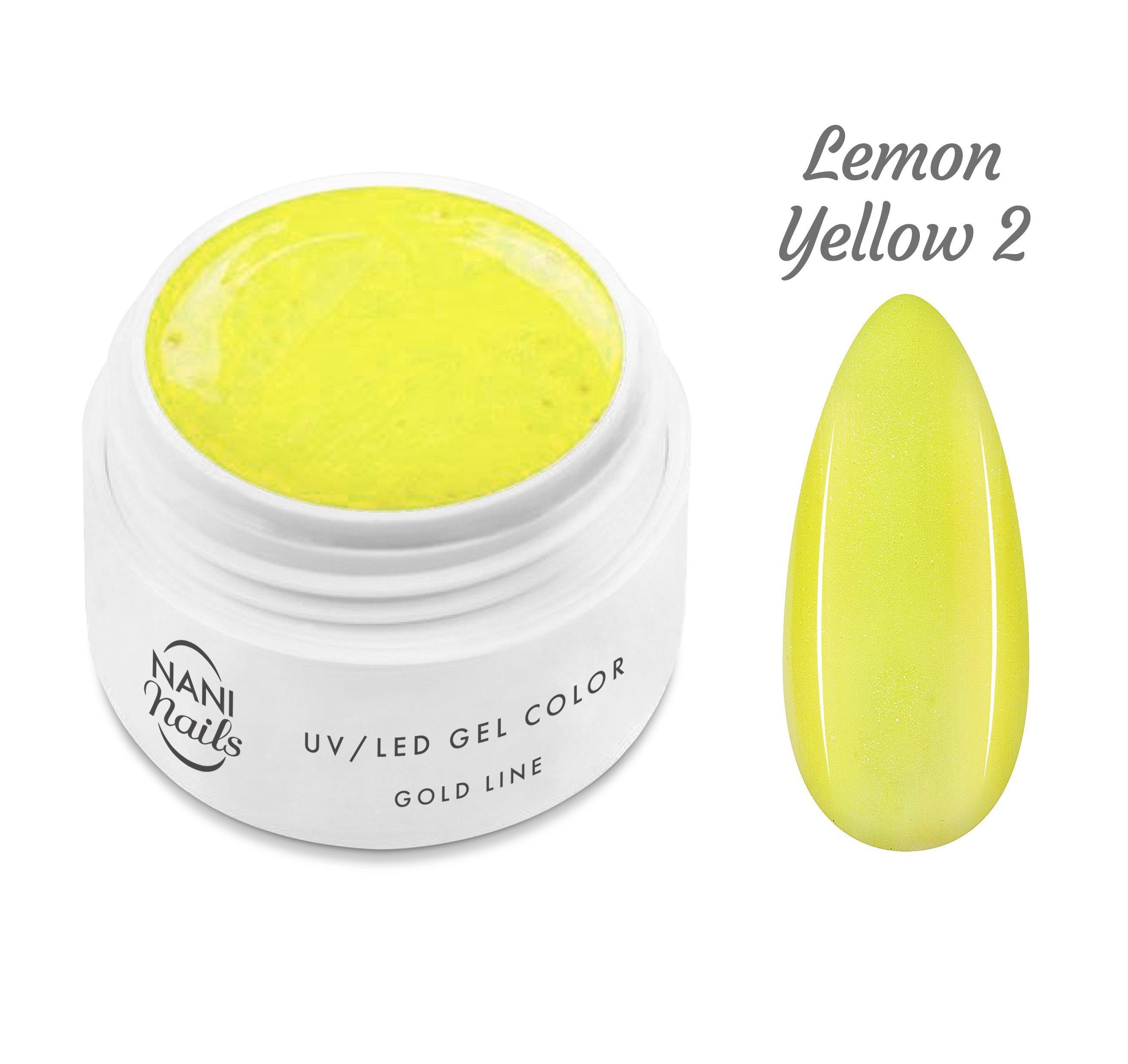 NANI UV gél Gold line 5 ml - Lemon Yellow
