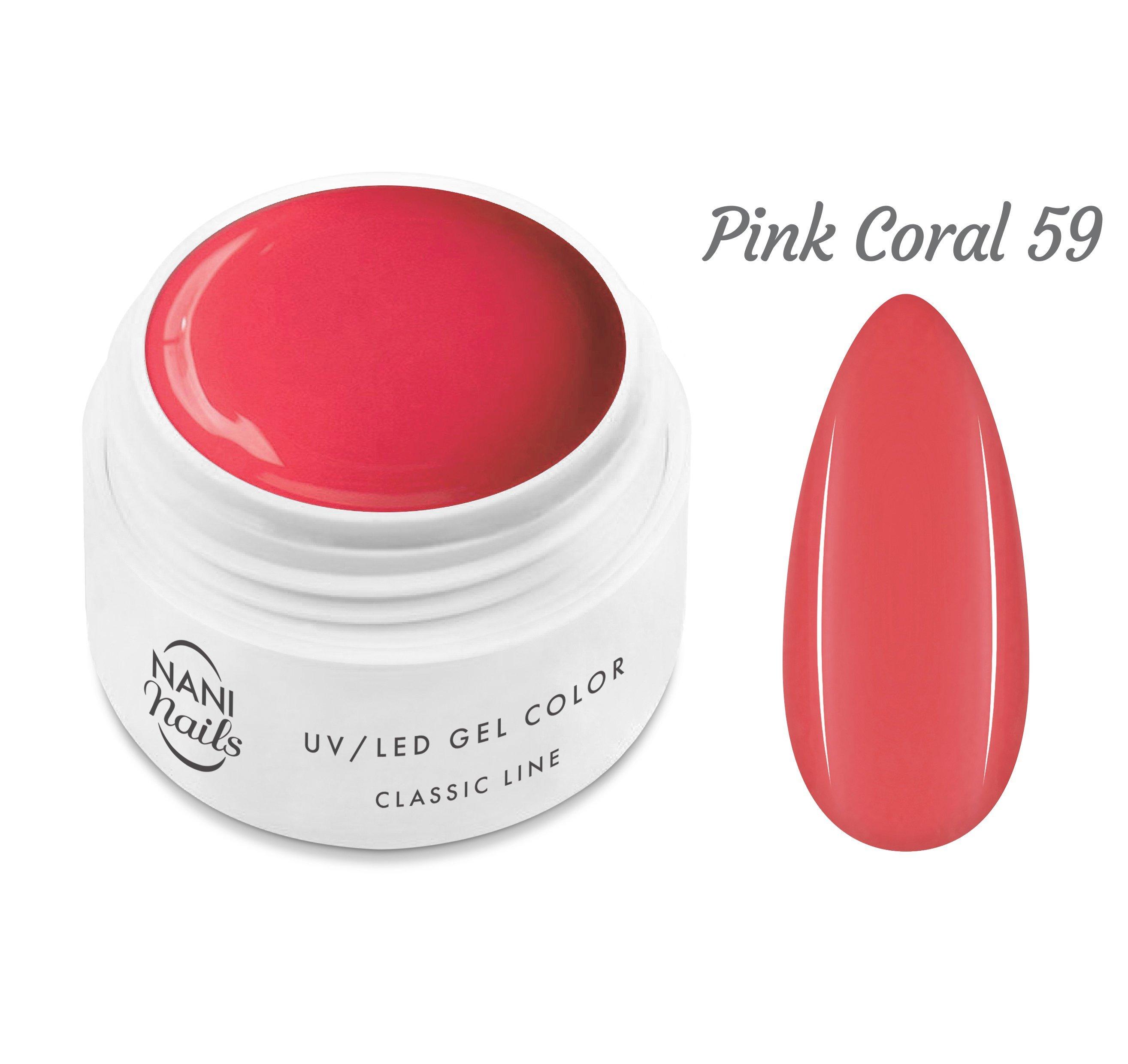 NANI UV gél Classic Line 5 ml - Pink Coral