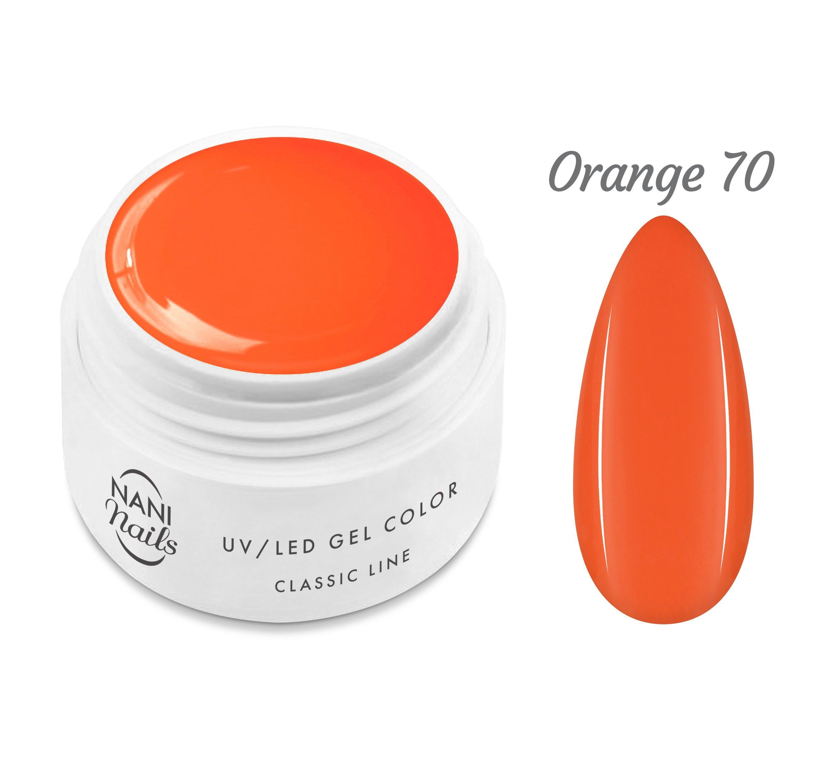 NANI UV gél Classic Line 5 ml - Orange