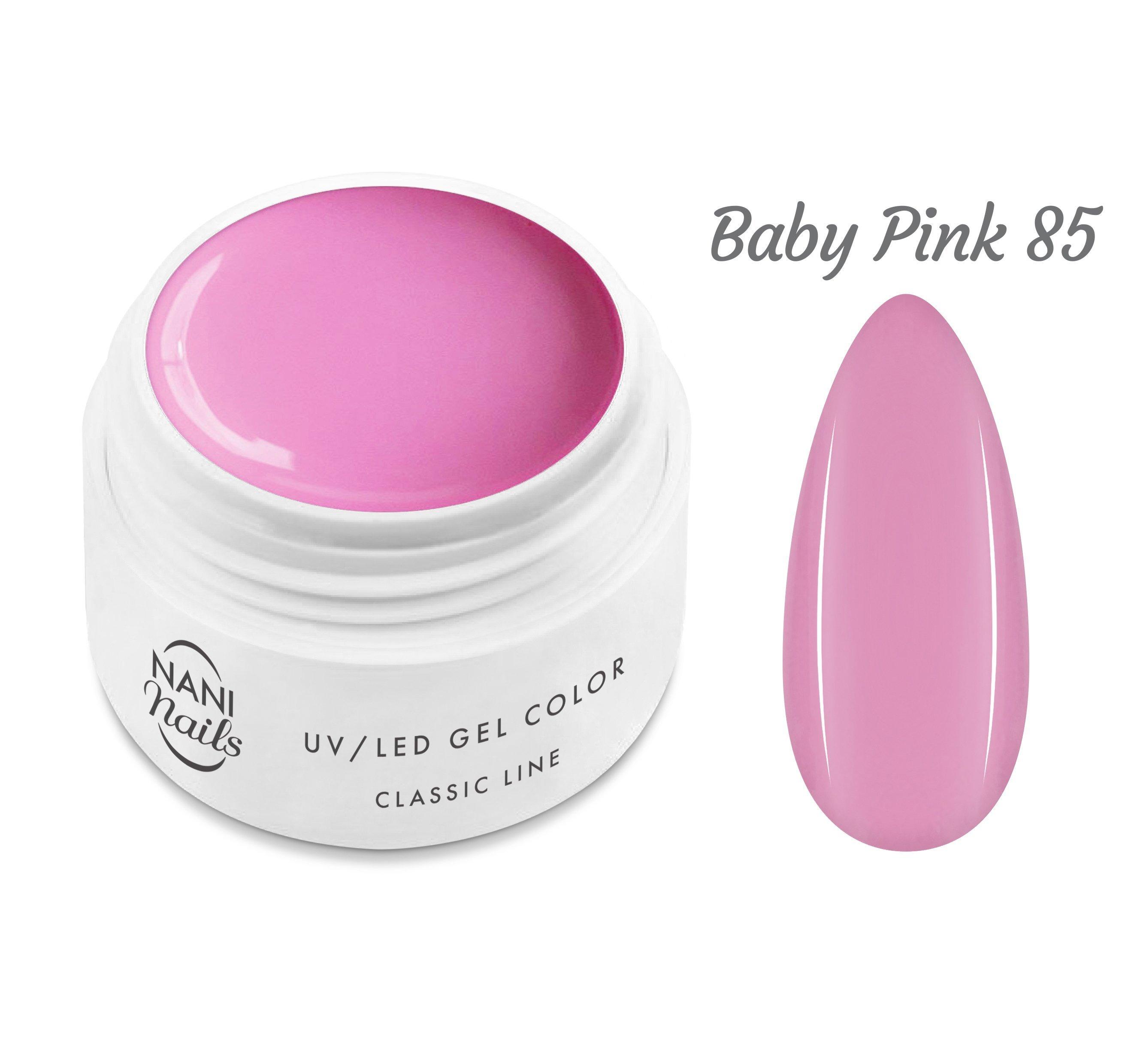 NANI UV gél Classic Line 5 ml - Baby Pink