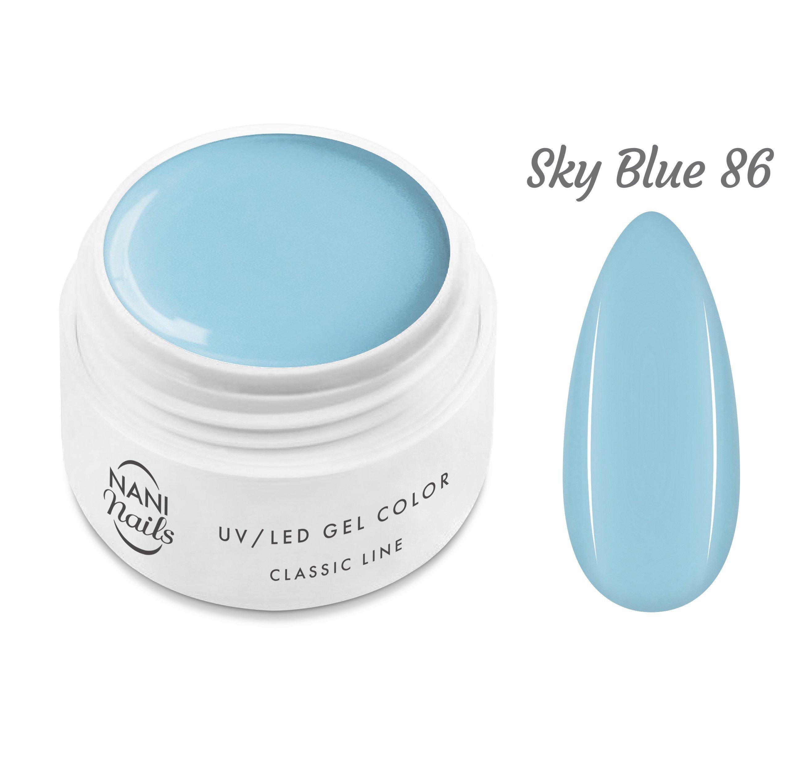 NANI UV gél Classic Line 5 ml - Sky Blue