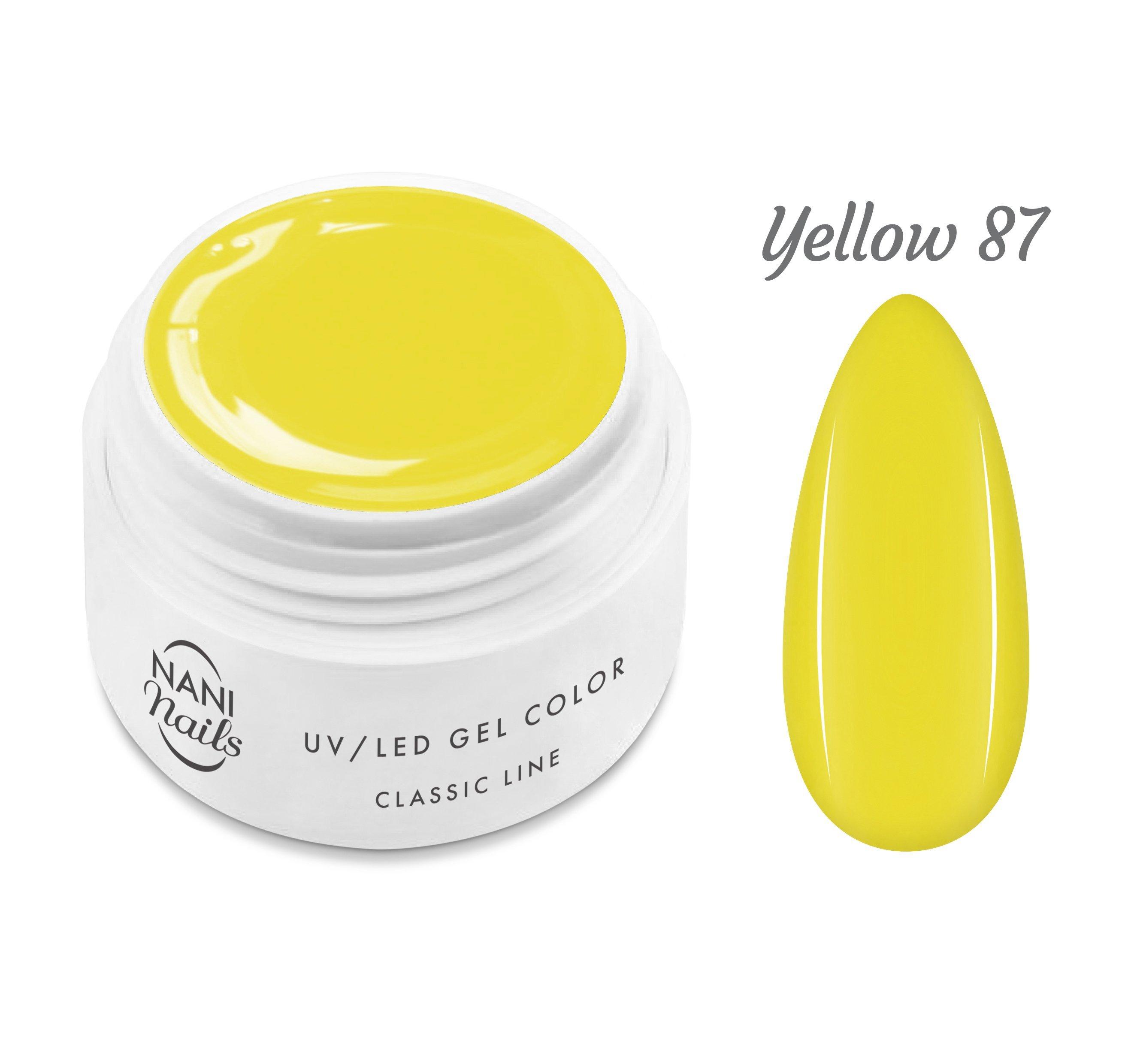 NANI UV gél Classic Line 5 ml - Yellow