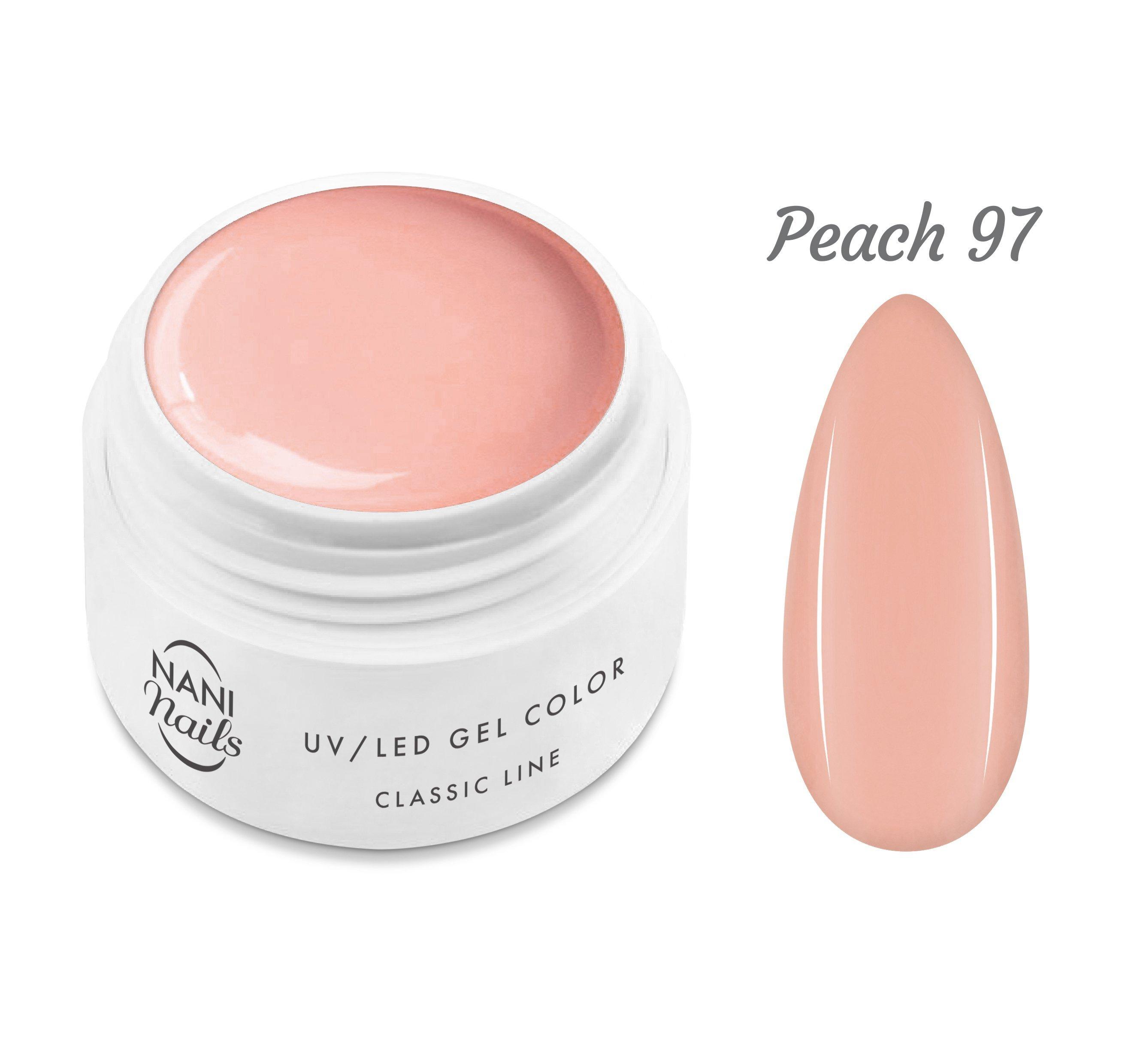 NANI UV gél Classic Line 5 ml - Peach