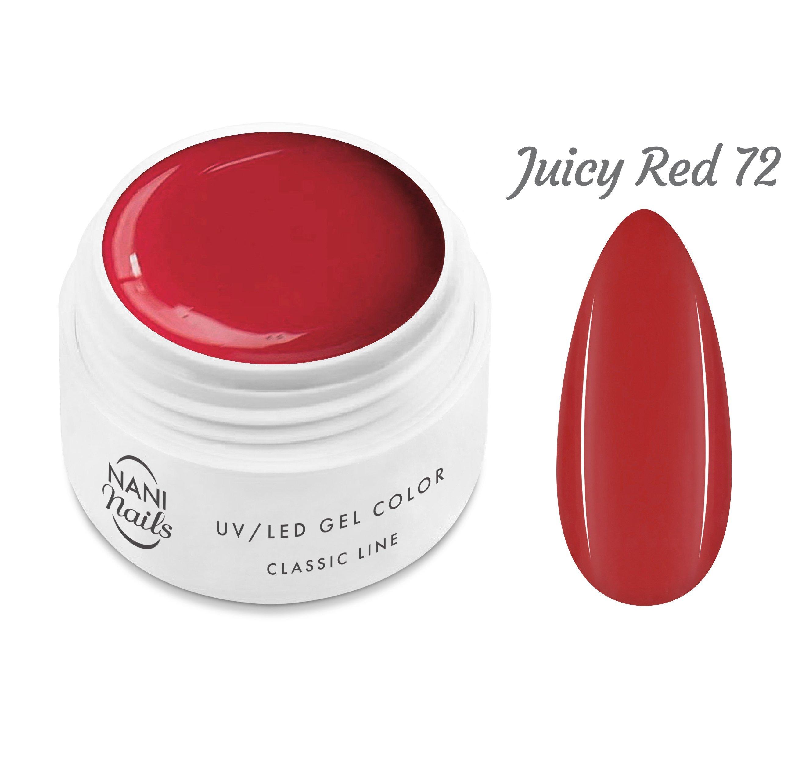 NANI UV gél Classic Line 5 ml - Juicy Red