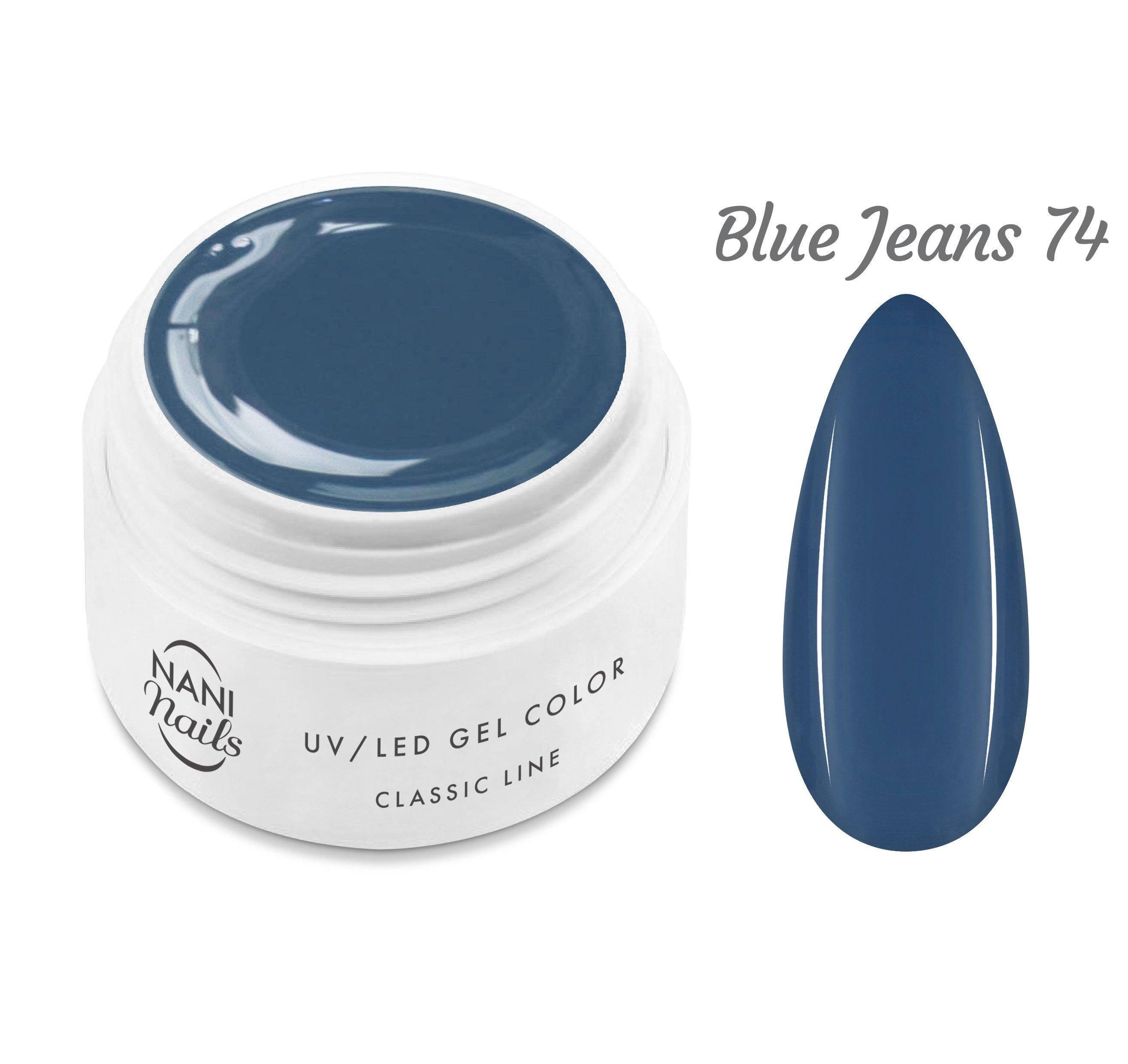 NANI UV gél Classic Line 5 ml - Blue Jeans