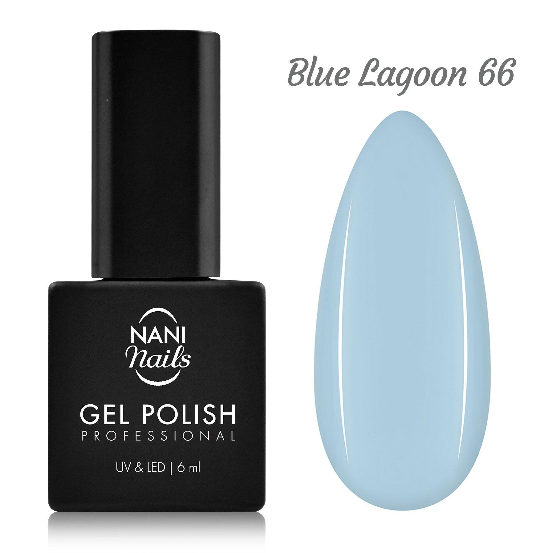 NANI gél lak 6 ml - Blue Lagoon