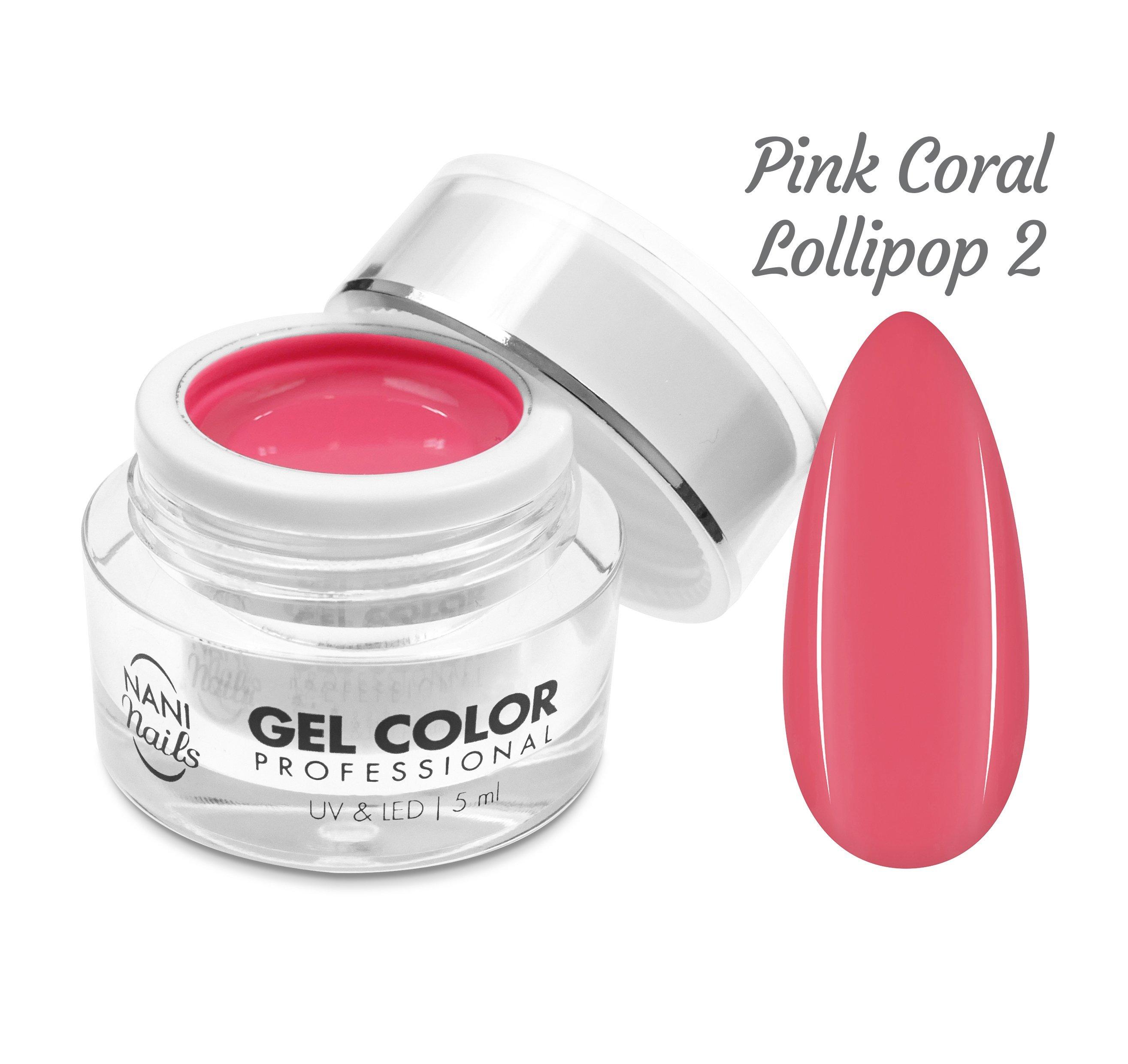 NANI UV/LED gél Professional 5 ml - Pink Coral Lollipop