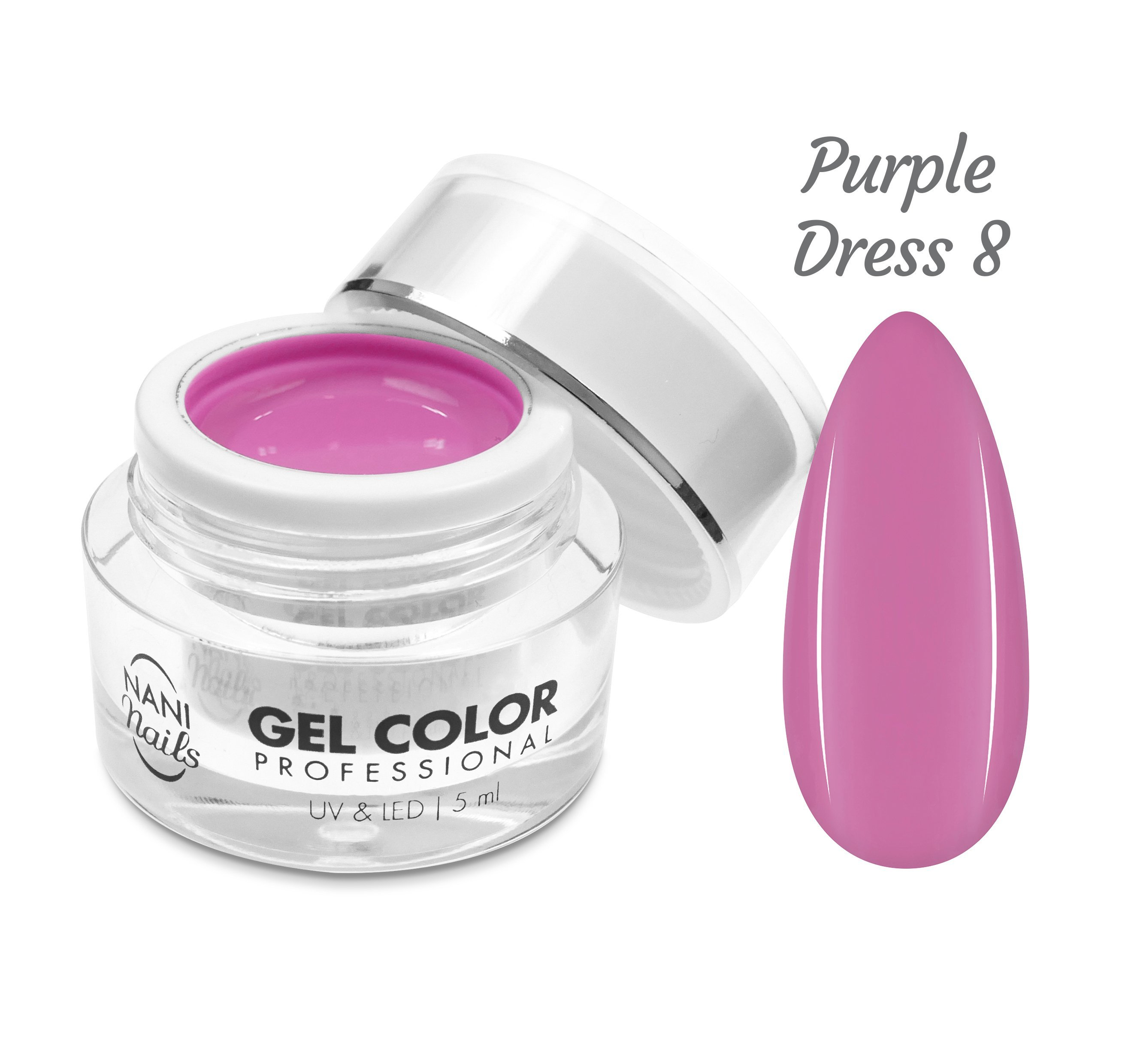 NANI UV/LED gél Professional 5 ml - Purple Dress