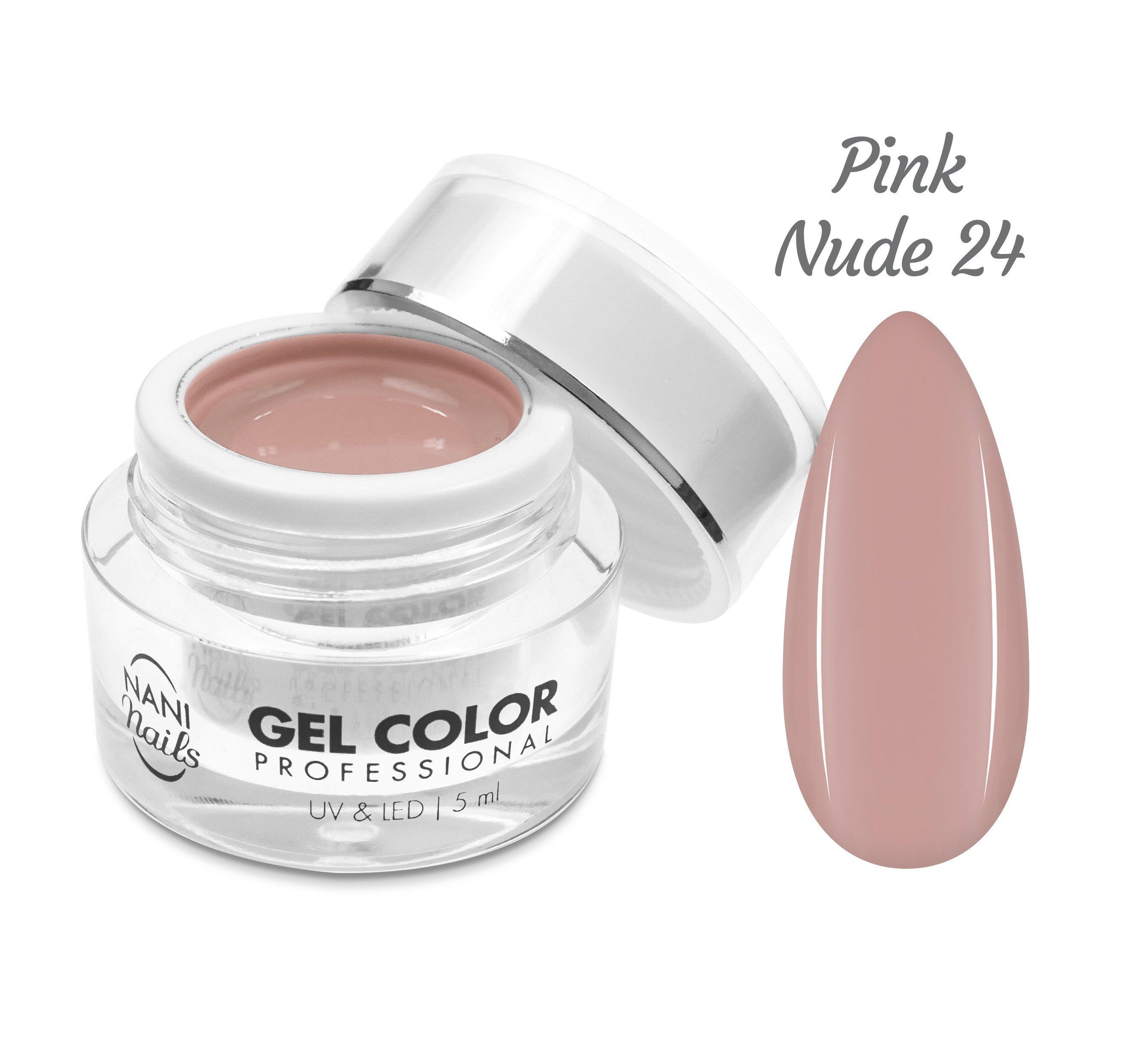 NANI UV/LED gél Professional 5 ml - Pink Nude